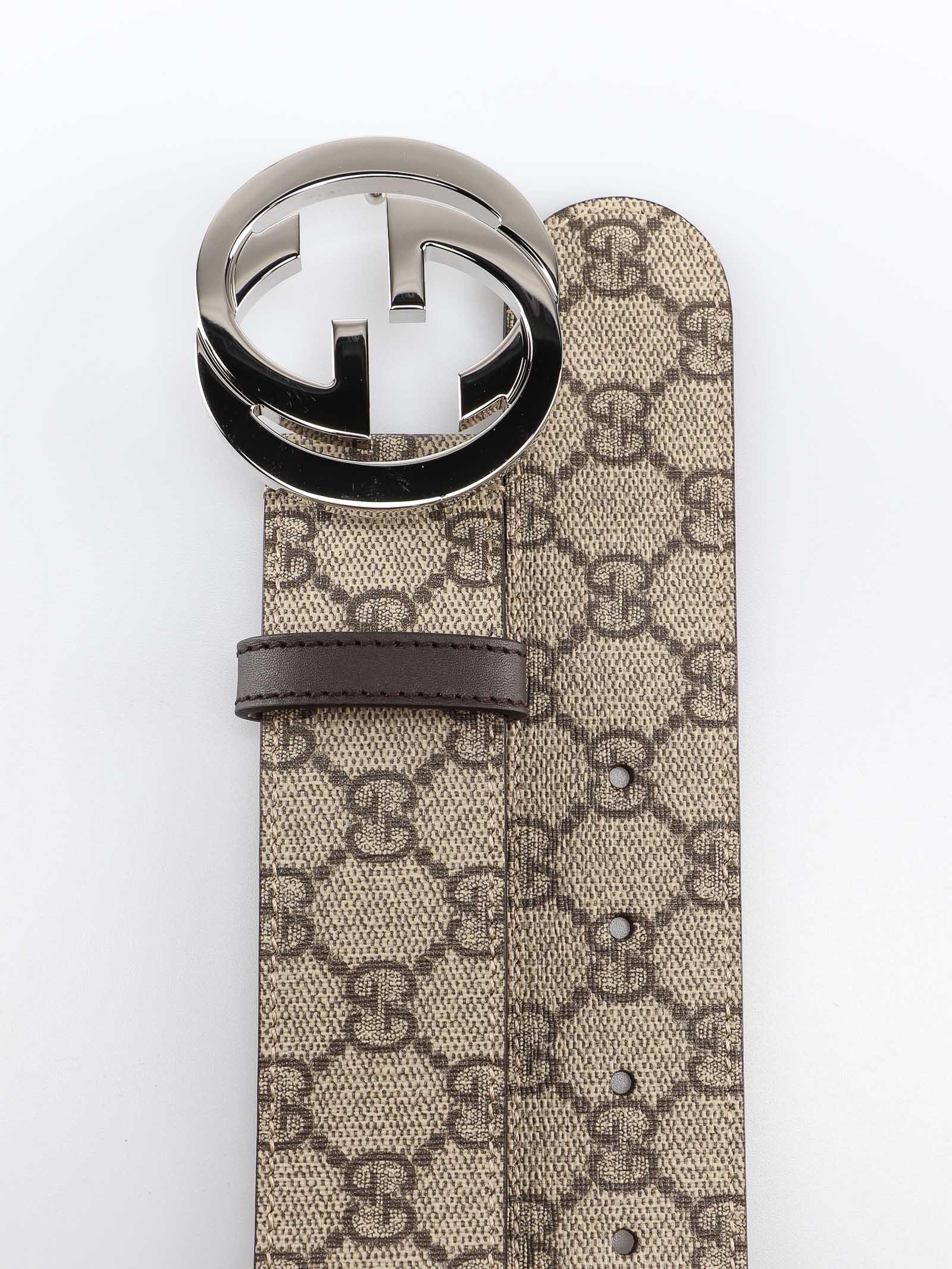 Picture of Gucci   Gg Supreme Belt