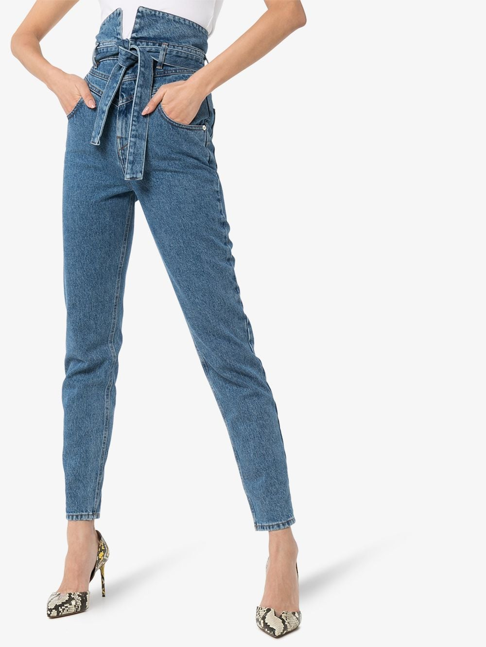 Picture of The Attico | High Waisted Jeans