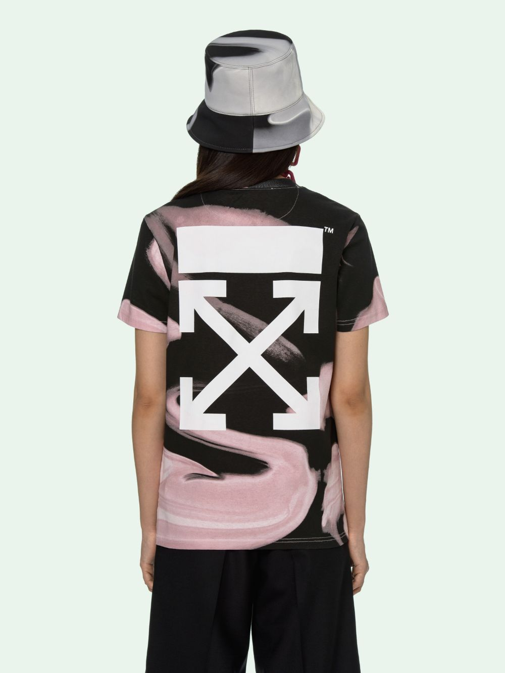 Picture of Off White | Liquid Melt Casual Tee