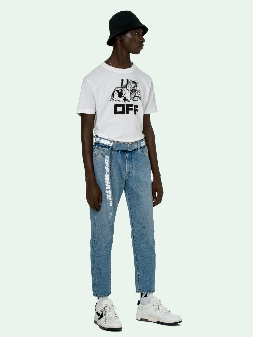 Picture of Off White | World Caterpilla S/S Slim Tee