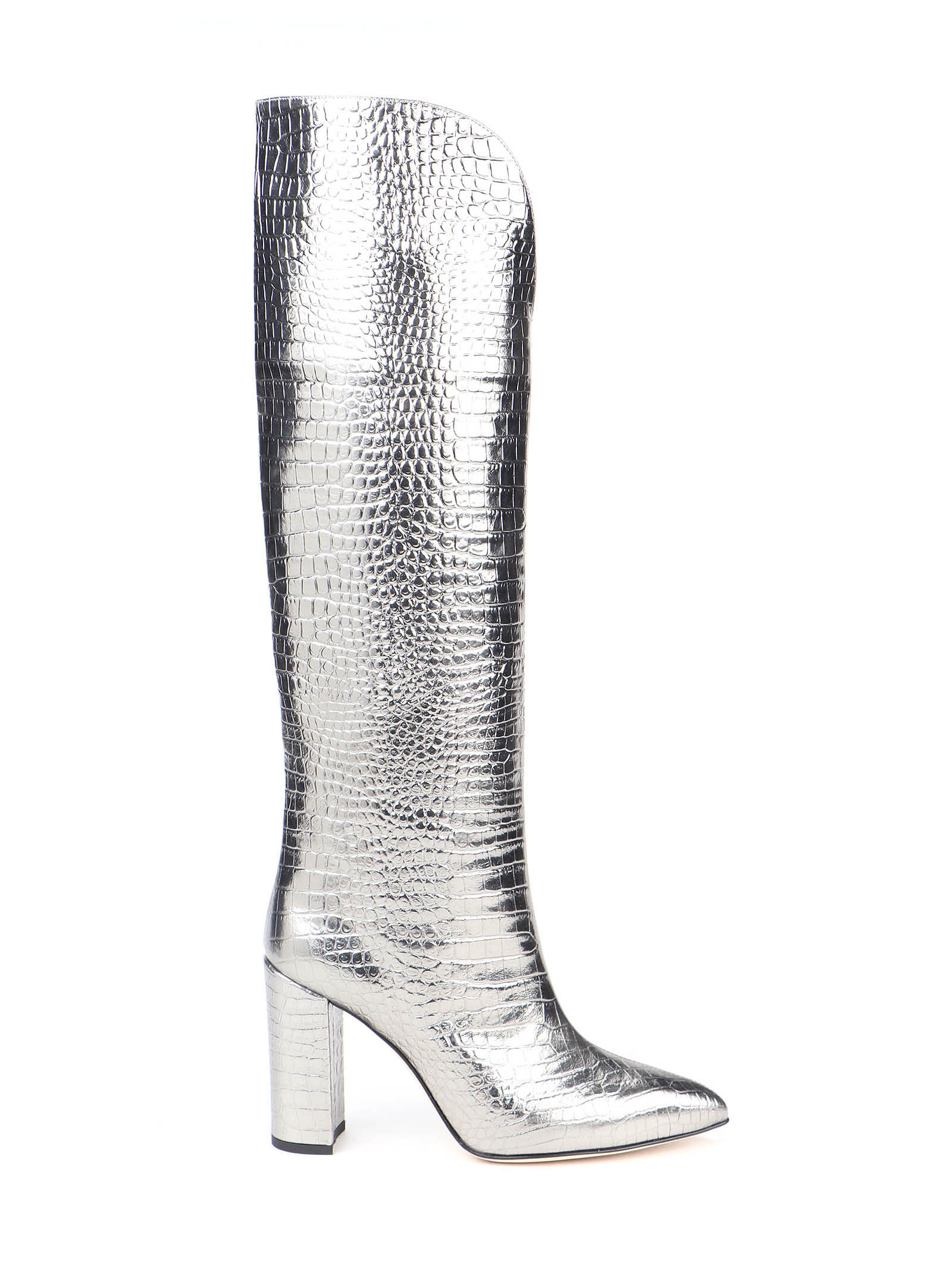 Picture of Paris Texas | Croc Embossed Boots