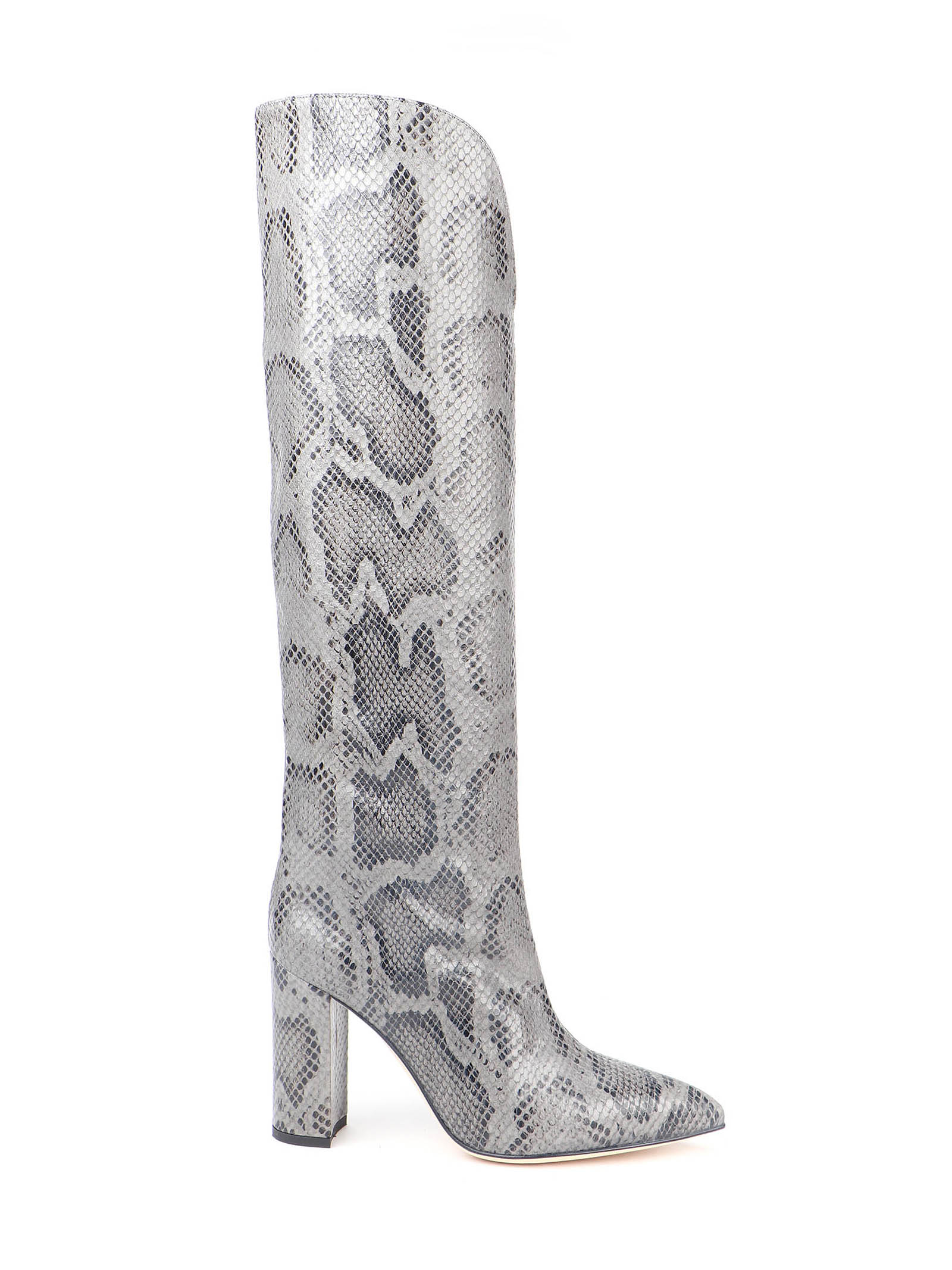 Picture of Paris Texas Snake Embossed Slouchy Boots