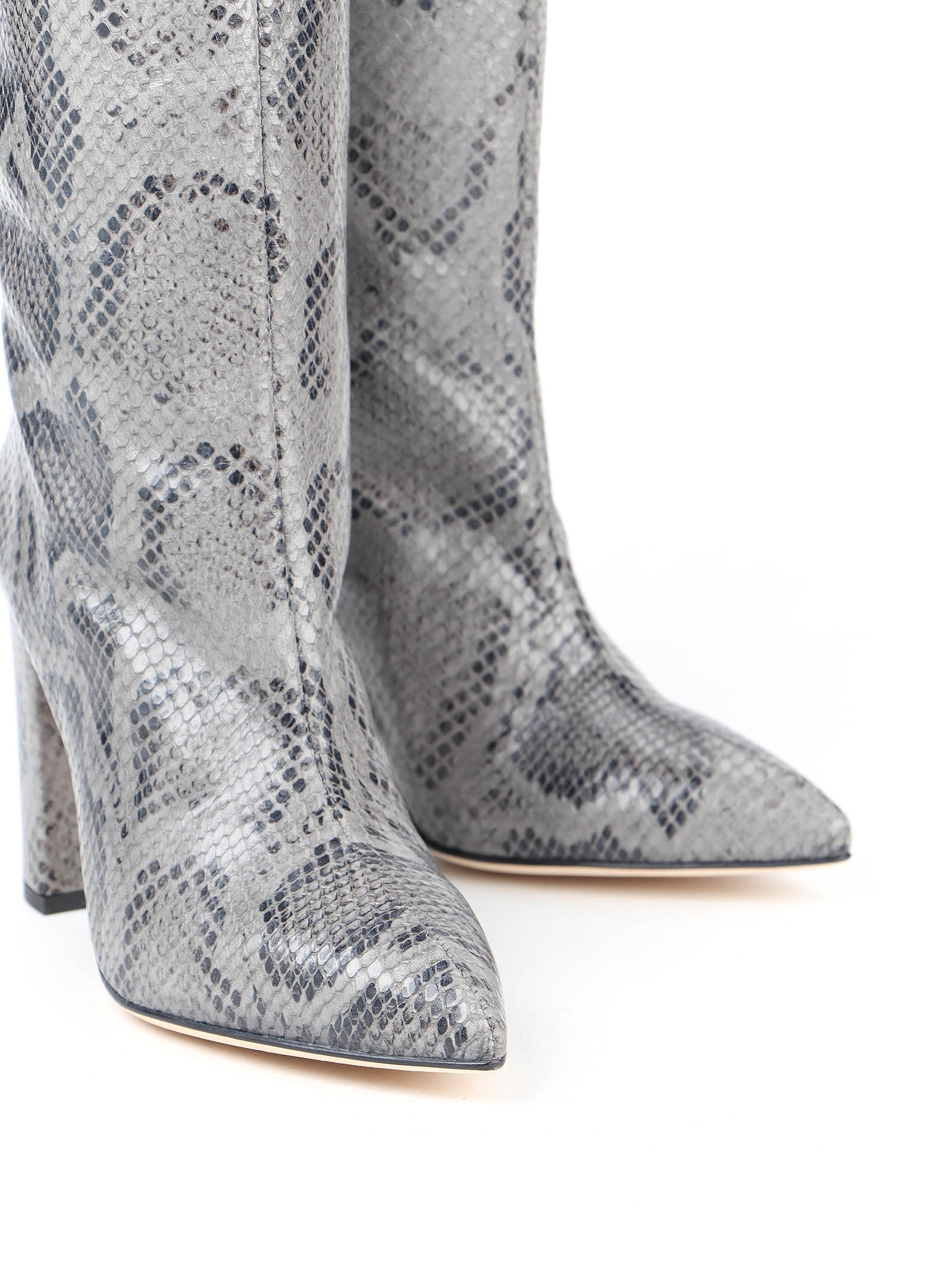 Immagine di Paris Texas | Snake Embossed Slouchy Boots
