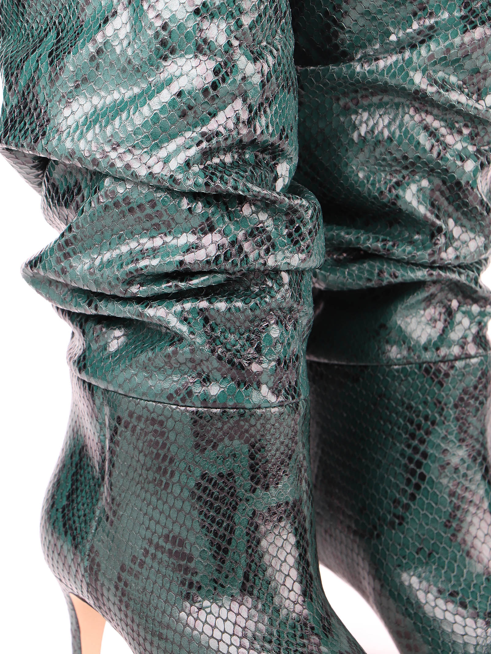 Immagine di Paris Texas   Snake Embossed Slouchy Boots
