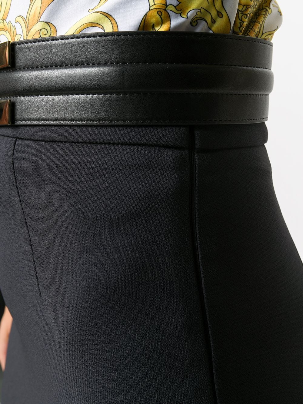 Picture of Elisabetta Franchi   Skirt With Belt