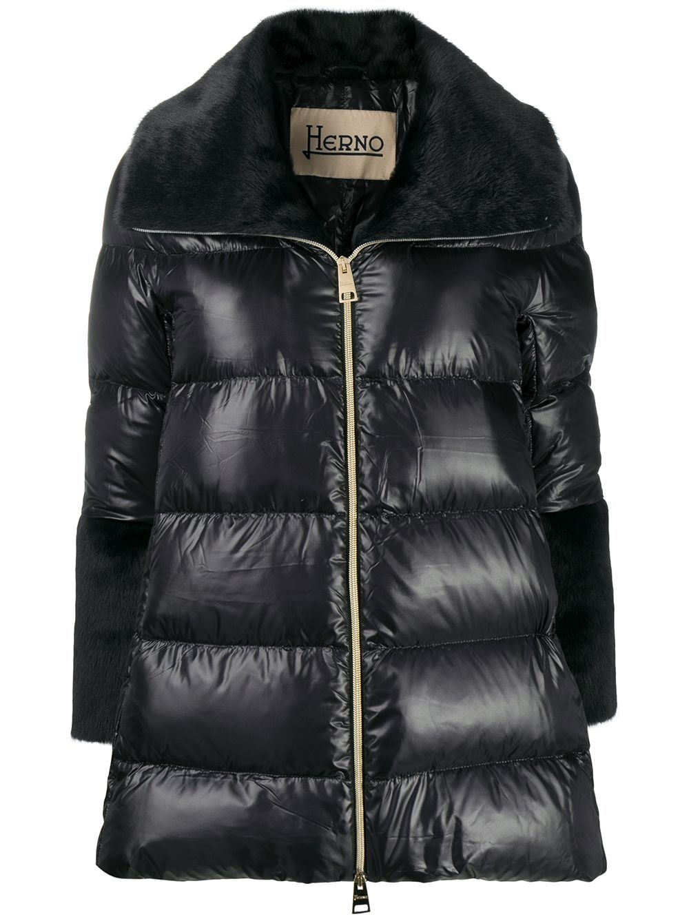 Picture of Herno | A-Shape Ecofur Down Jacket
