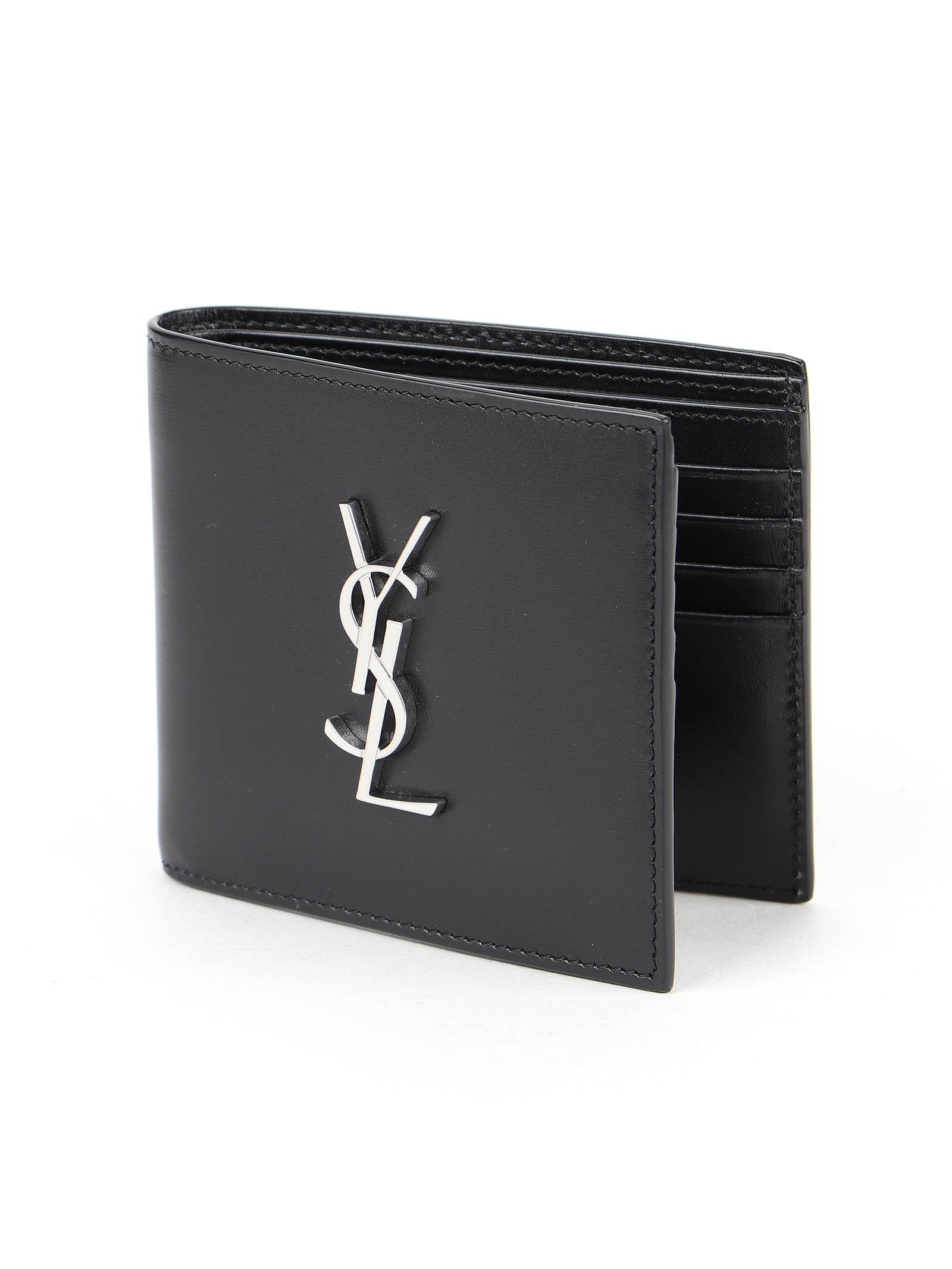 Immagine di Saint Laurent | Ysl  Metal Logo Wallet