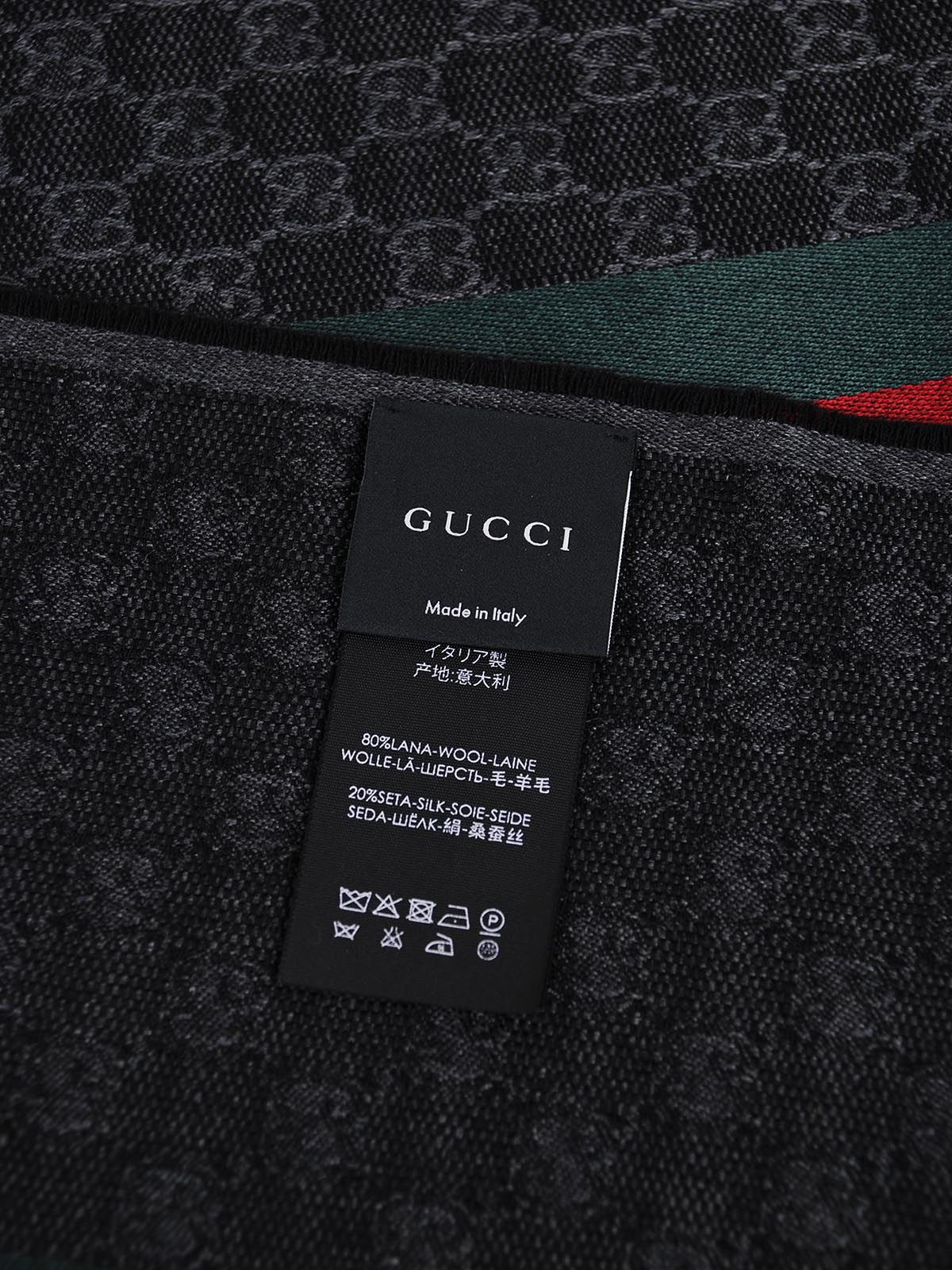 Picture of Gucci | Gg Signature  Verbier Scarf