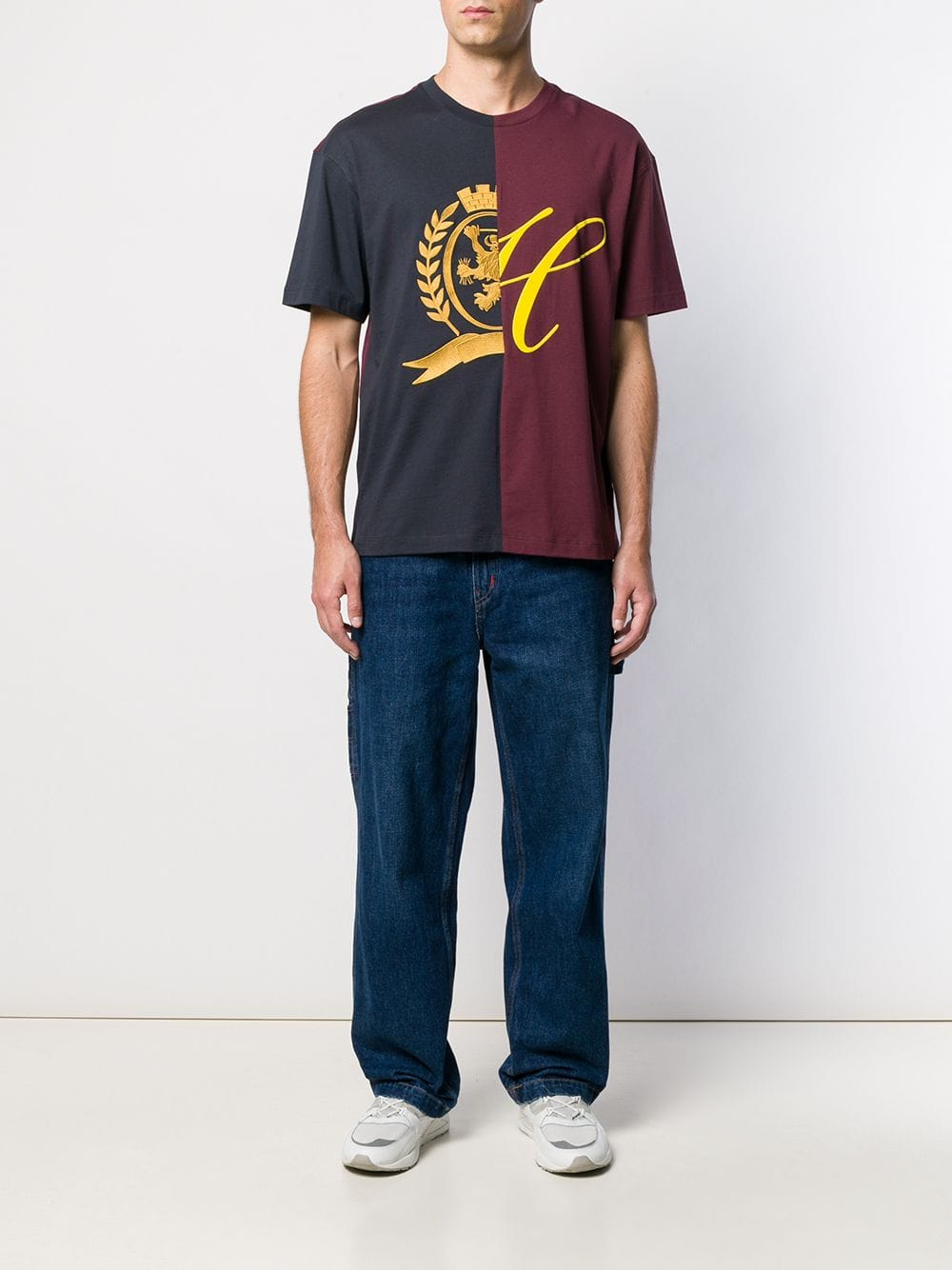 Picture of Tommy Hilfiger   Through Crest Tee