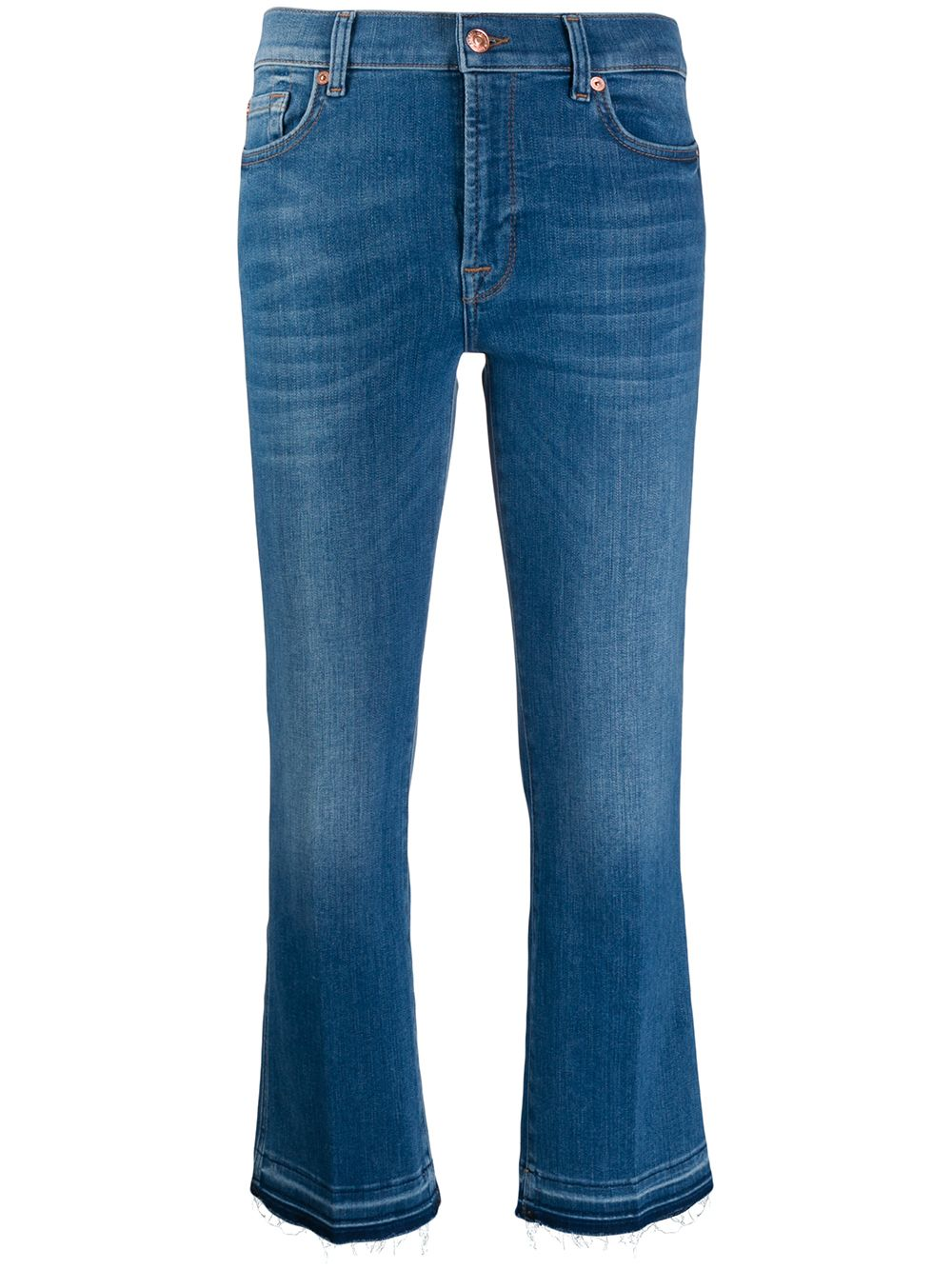 Picture of 7 For All Mankind | Cropped Slim Jeans