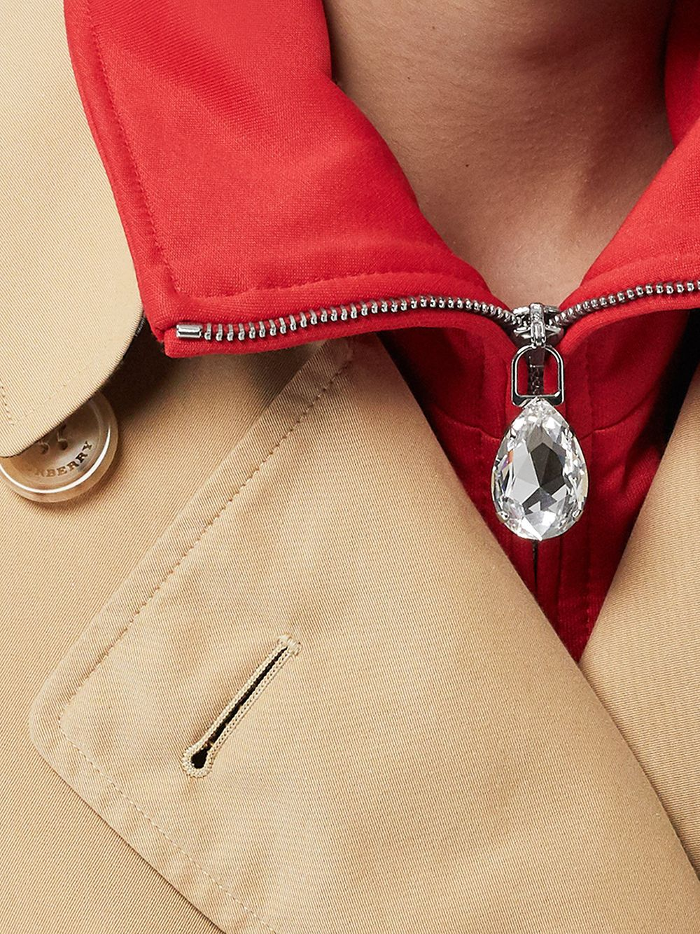 Picture of Burberry | Kensington Long Trench