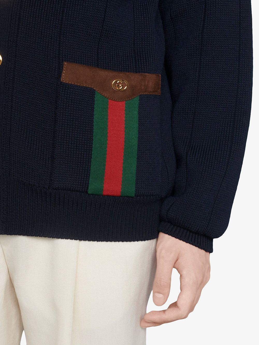 Picture of Gucci   Wool Polyamide Cardigan