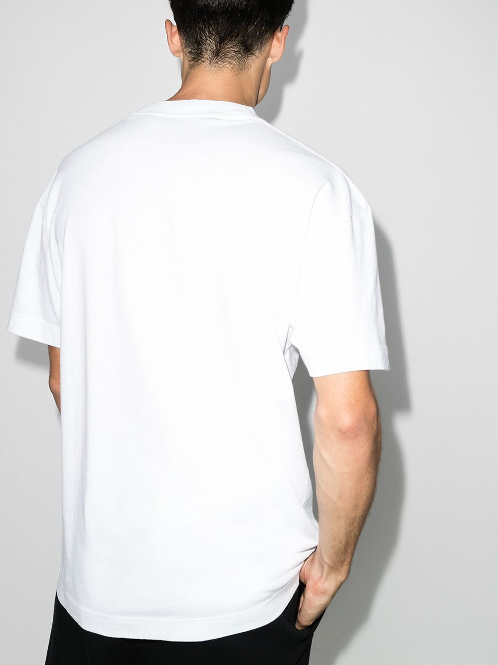 Picture of Palm Angels | La Sprayed Logo Tee