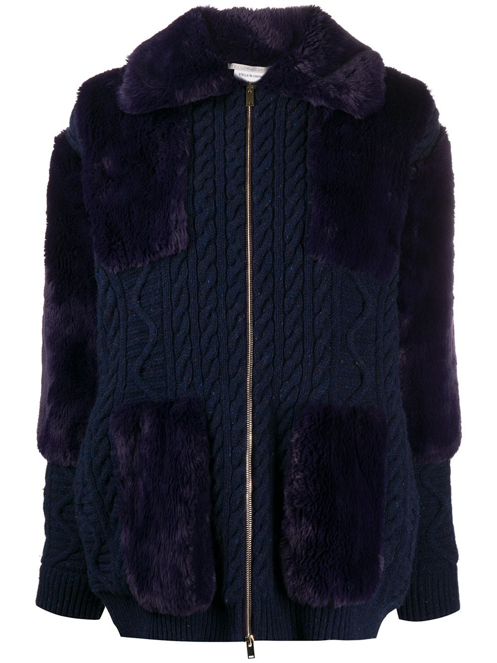 Immagine di Stella Mccartney | Fff Texture Mix Coat