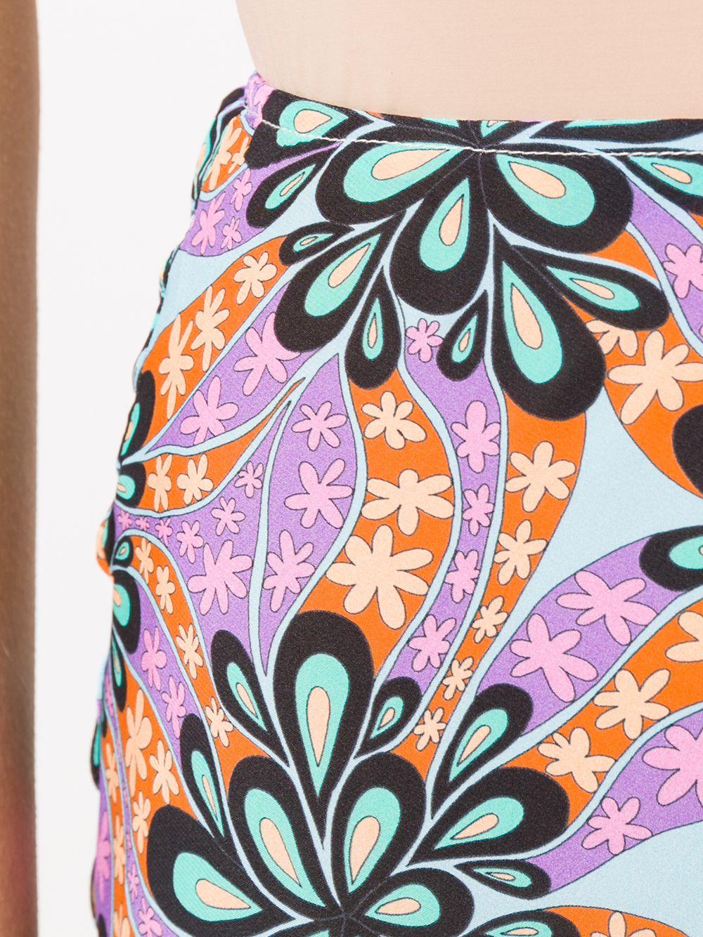 Picture of Pinko   Gallette Skirt Habutay