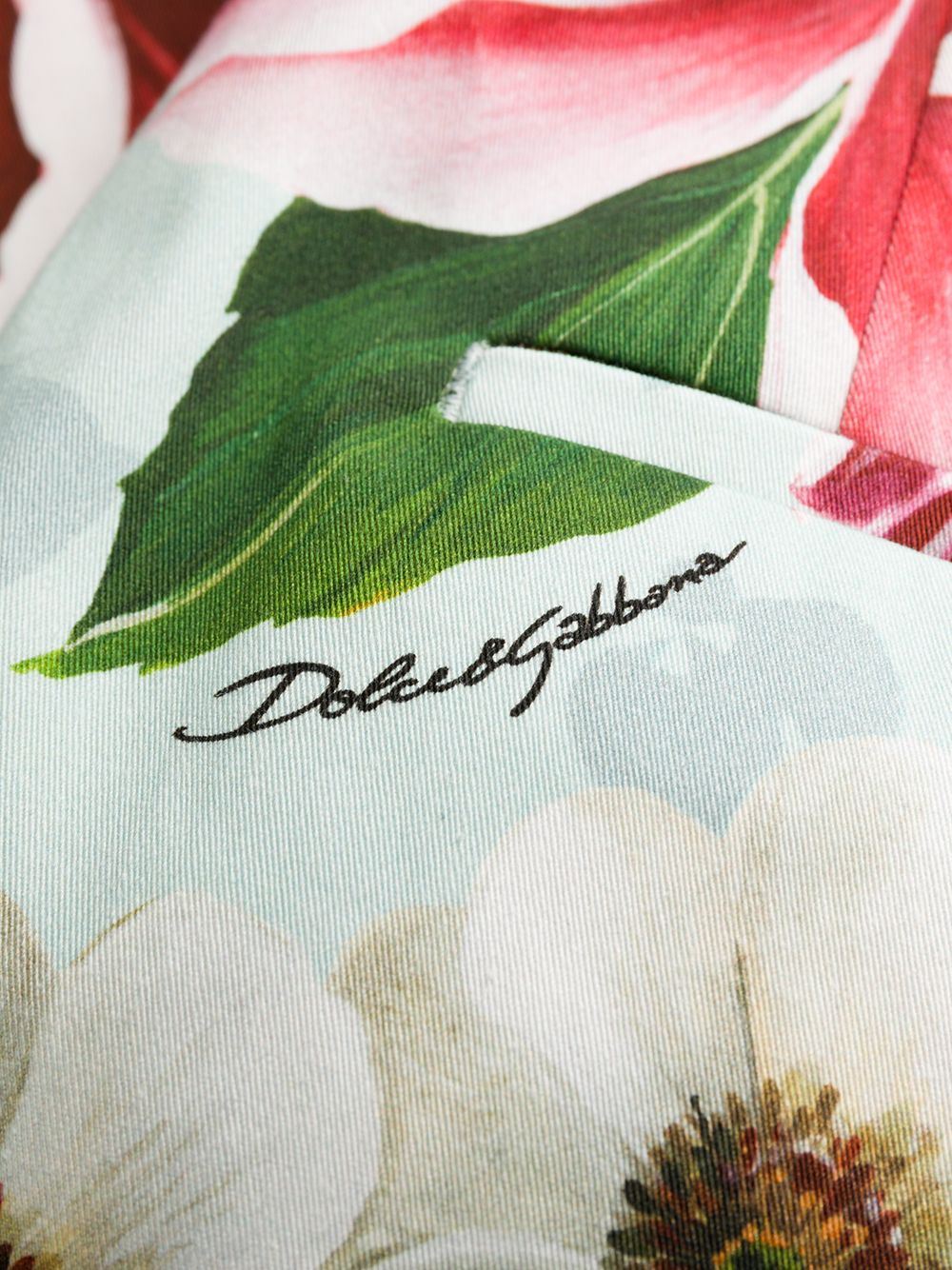 Picture of Dolce & Gabbana | Trousers Flowers