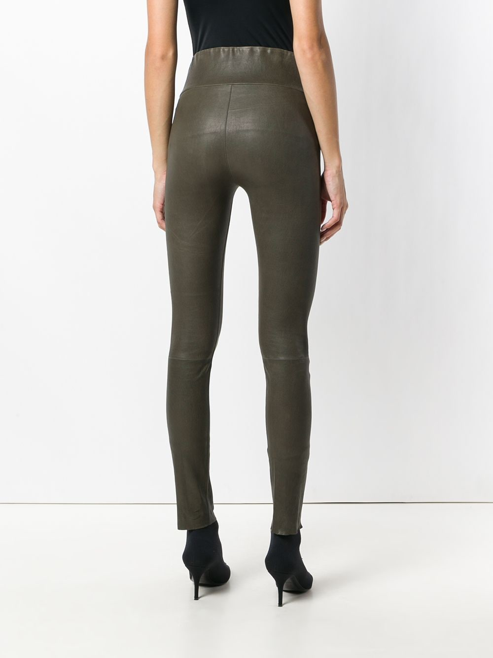Picture of Sprwmn   Hight Waist Ankle Leggings