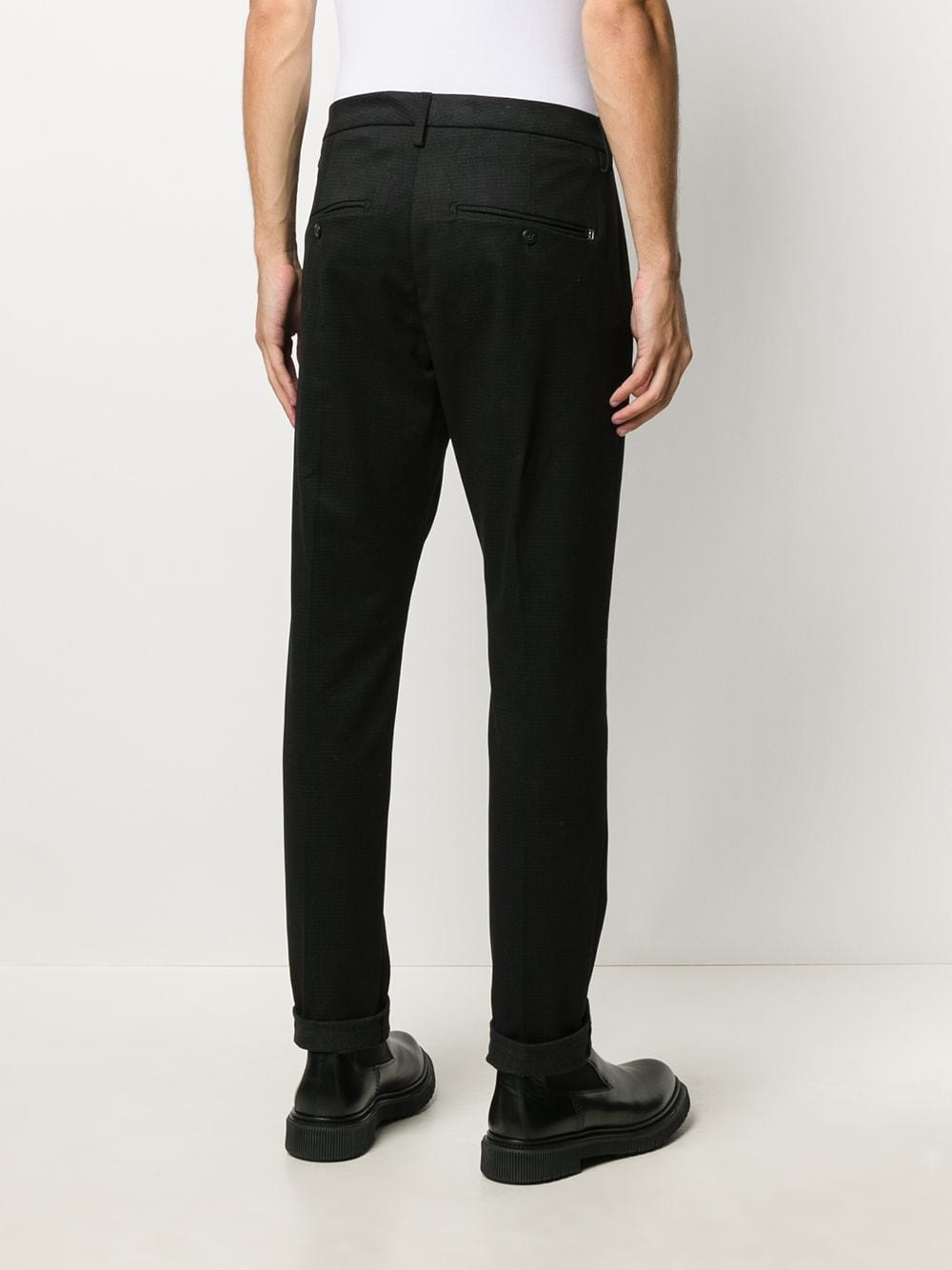 Picture of Dondup | Gaubert Point Print Pants