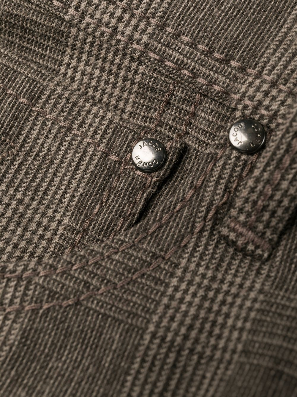 Picture of Jacob Cohen | Wool Check