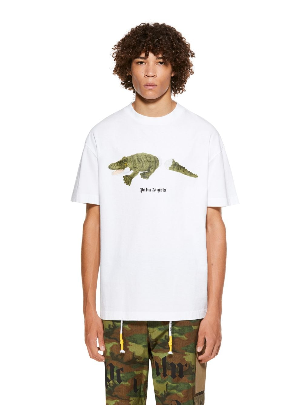 Picture of Palm Angels | Croco Tee