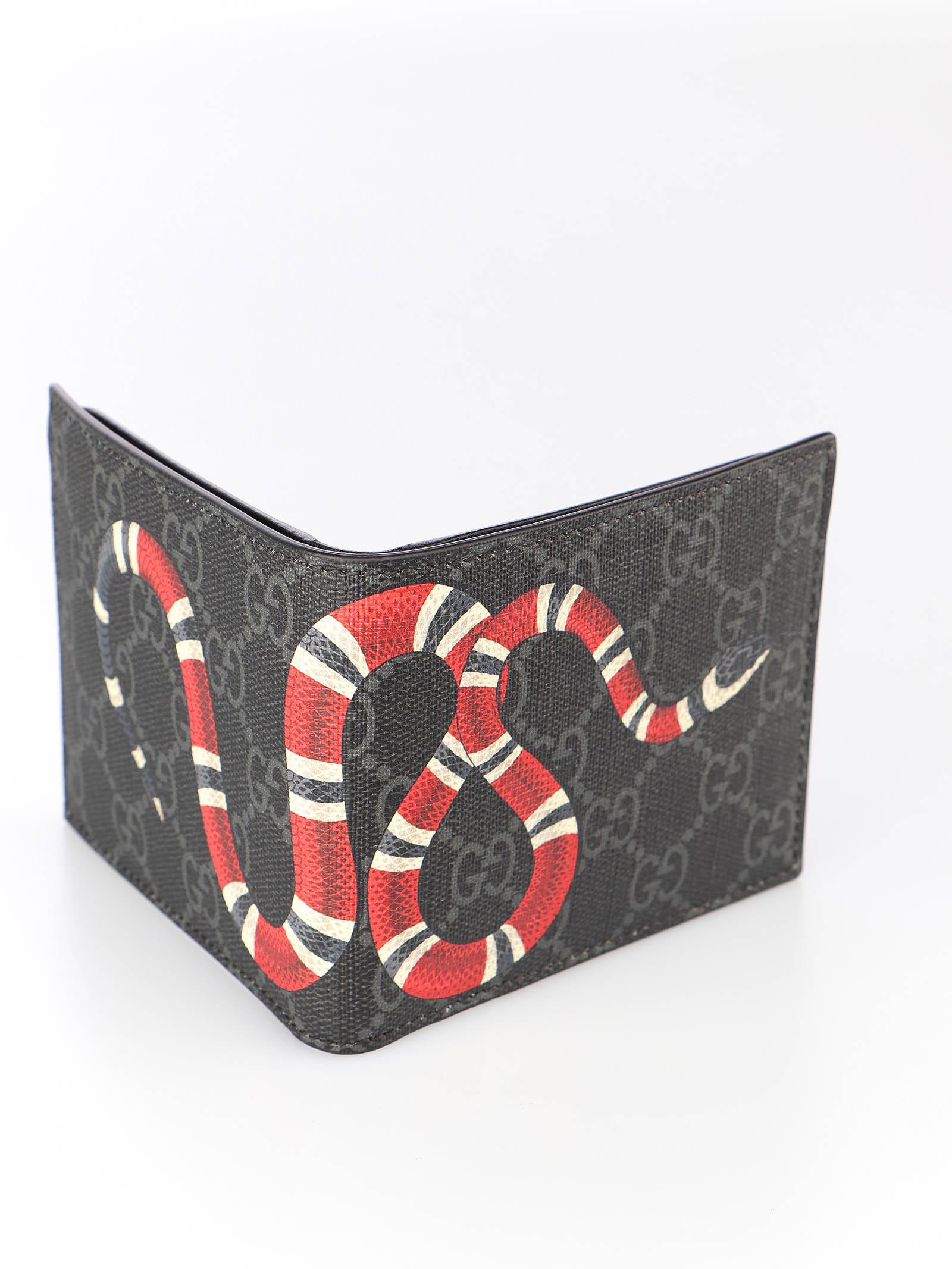 Immagine di Gucci | Kingsnake Print Gg Supreme Wallet