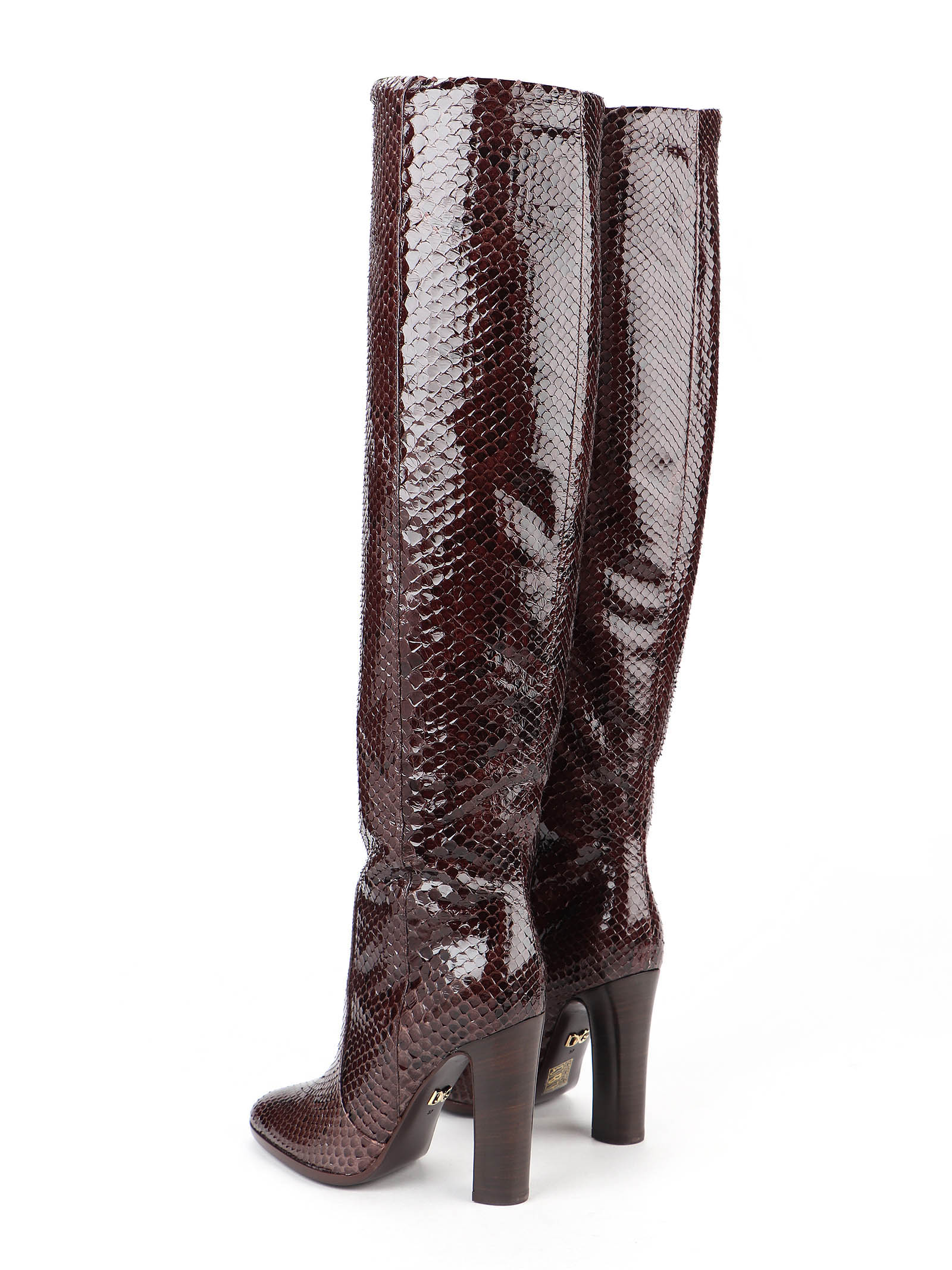 Picture of Dolce & Gabbana | Python Boots