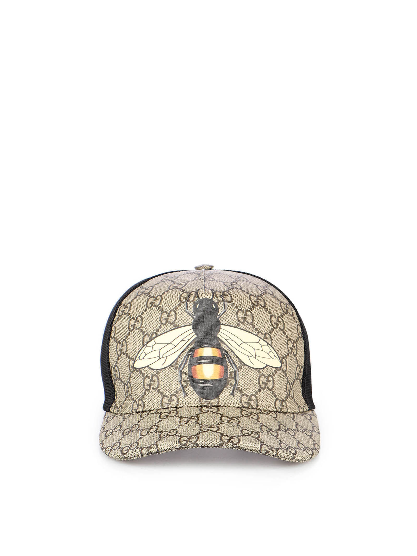 Immagine di Gucci | Bee Print Gg Supreme Baseball Hat