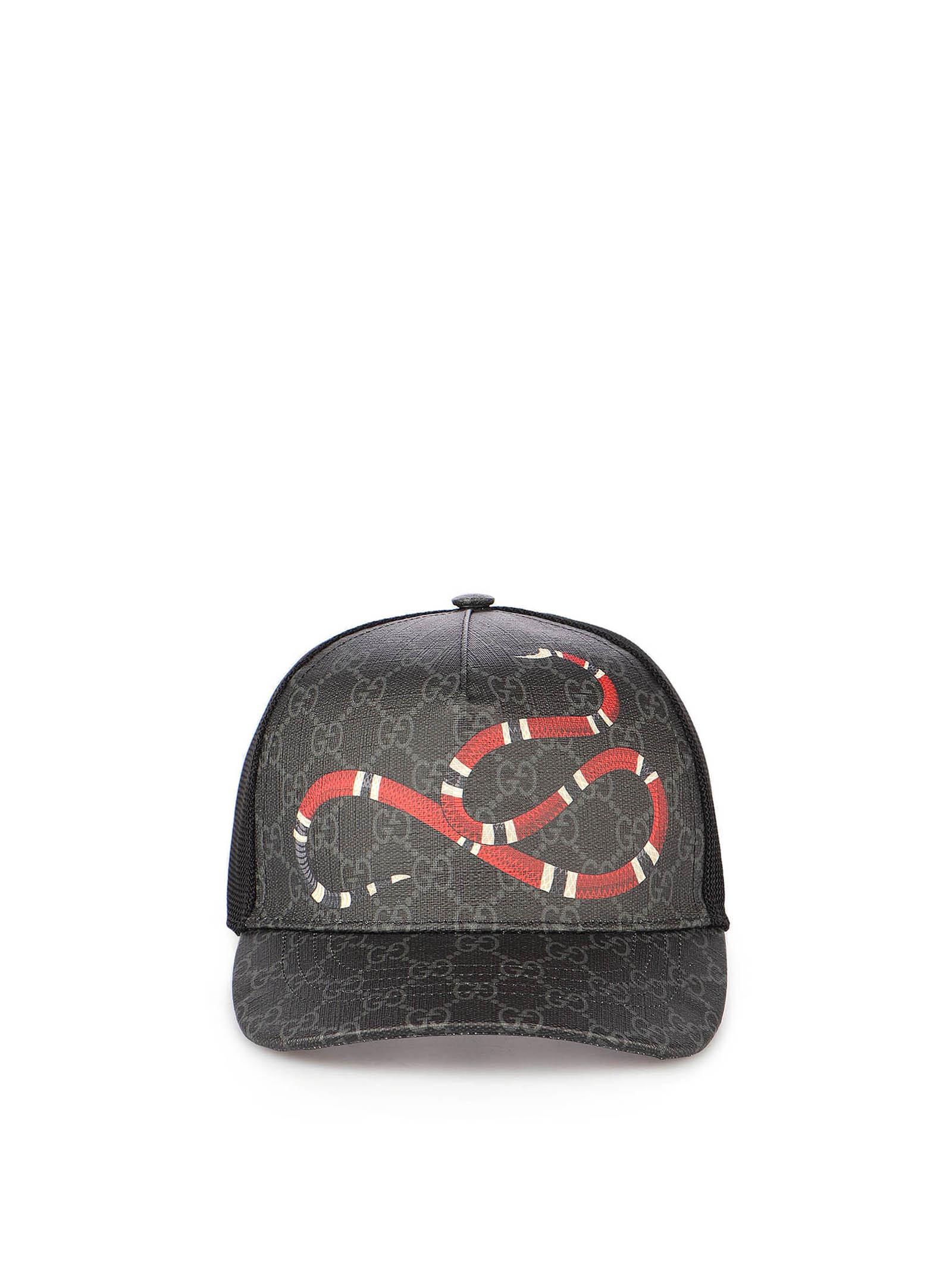 Immagine di Gucci | Kingsnake Print Gg Supreme Baseball Hat