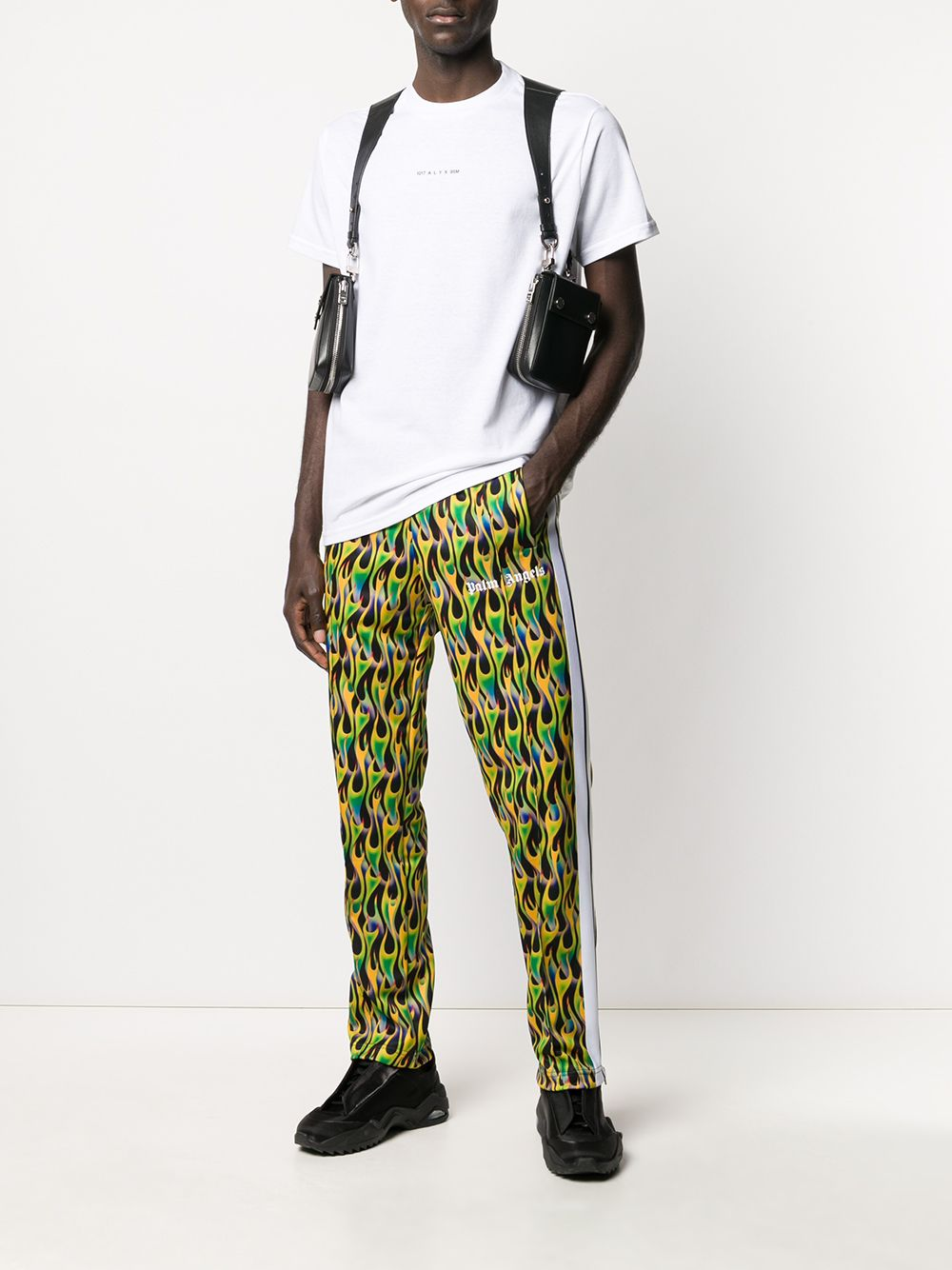 Picture of Palm Angels | Burning Track Pants