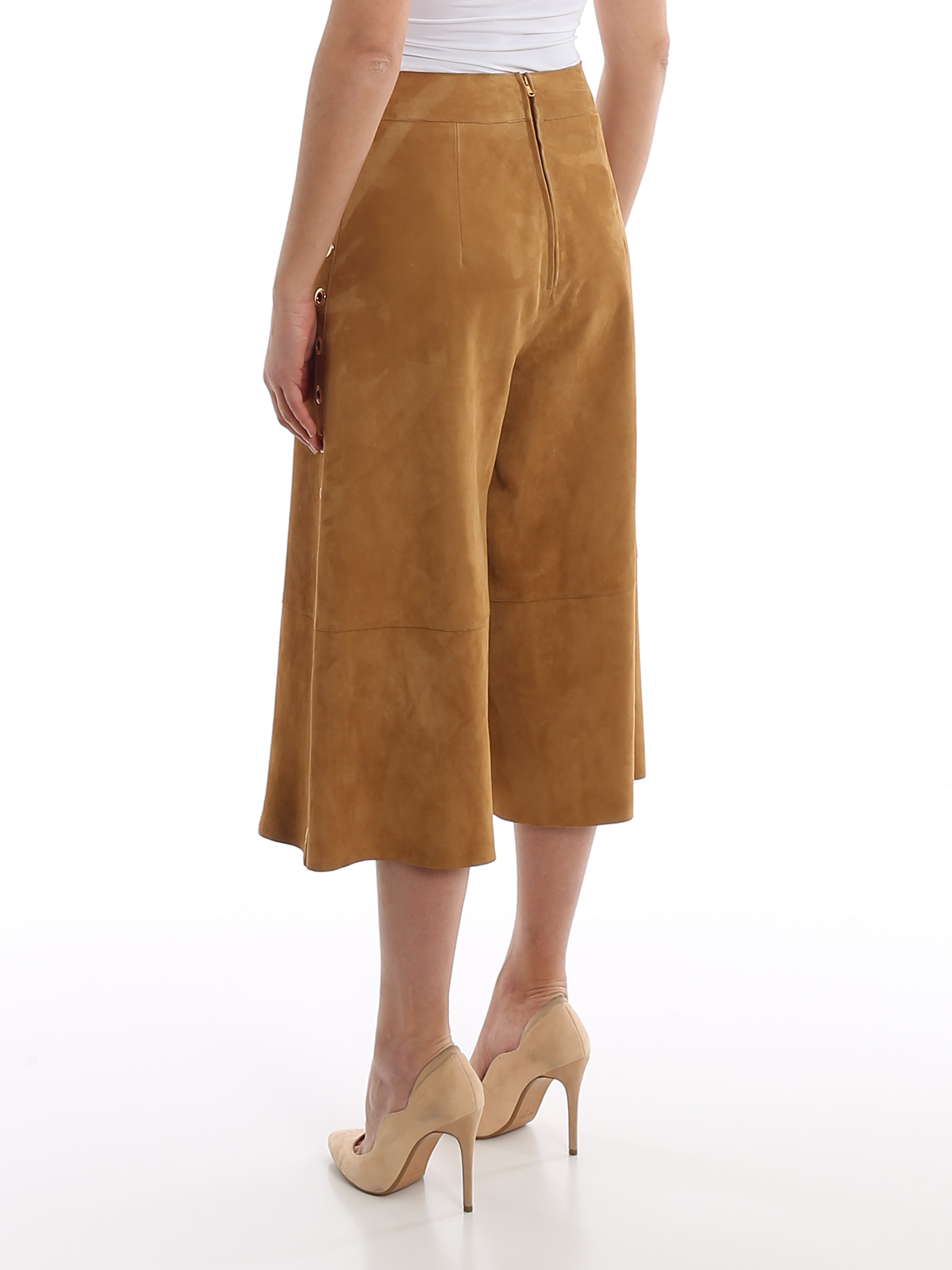 Immagine di Alberta Ferretti | Leather Skirt