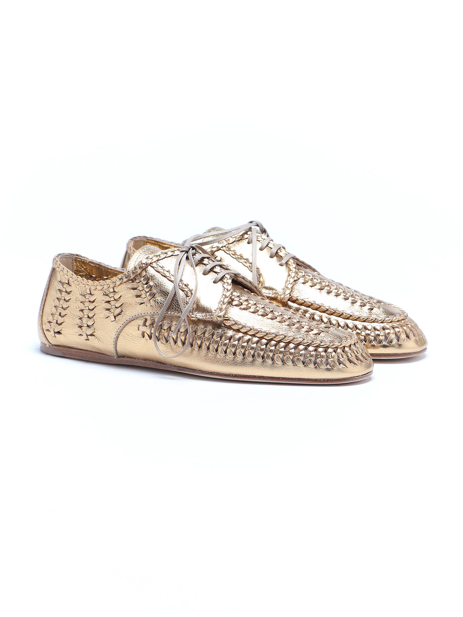 Picture of Prada   Lace Up Shoes