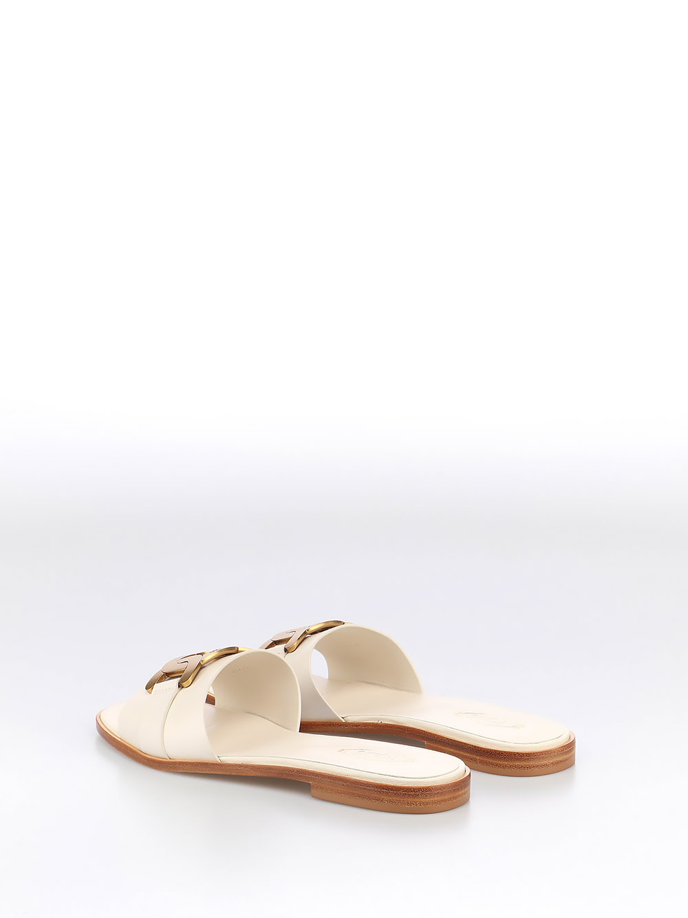 Picture of Tod`S   Flat Sandal W/Metal Chain