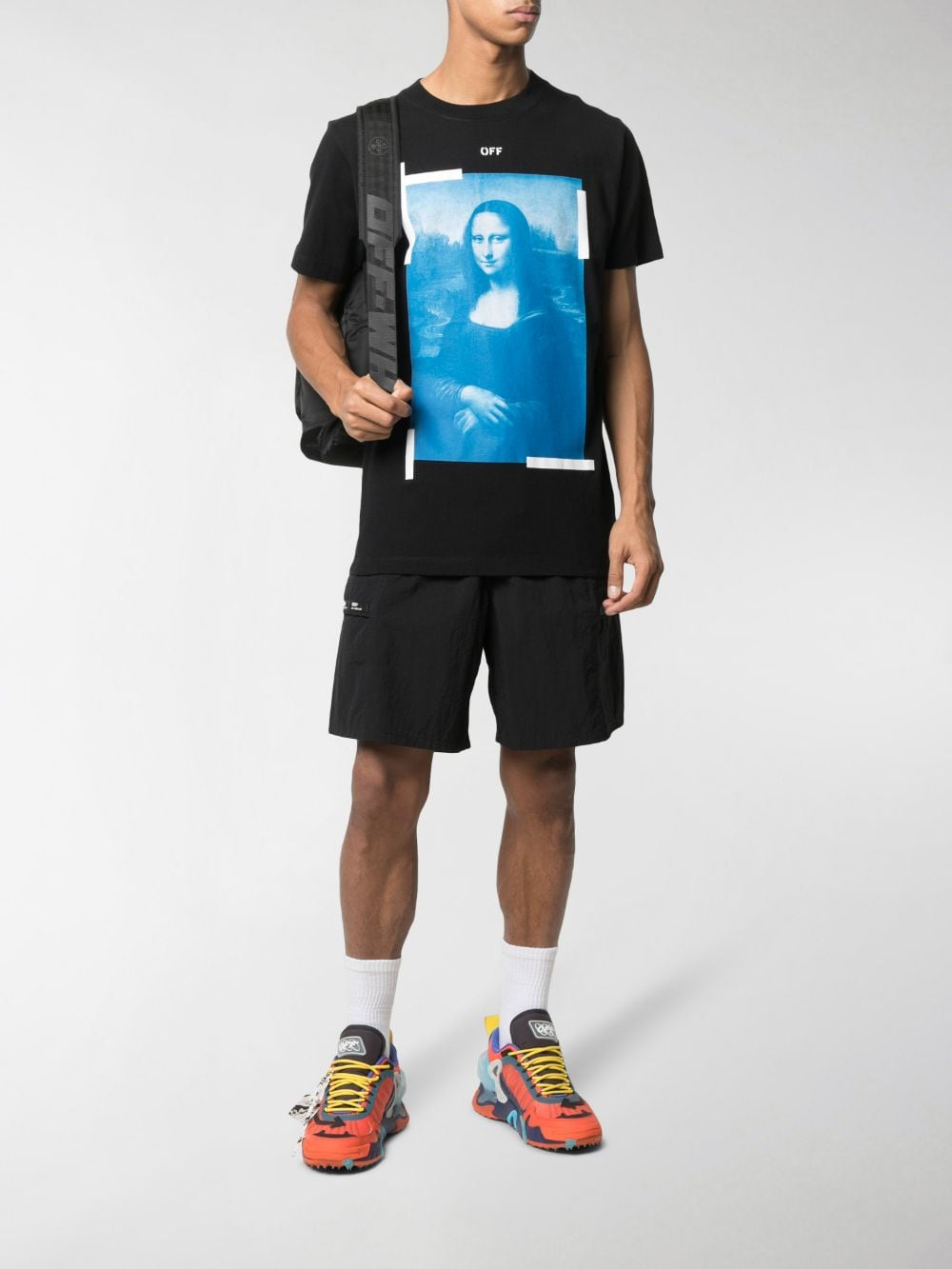 Picture of Off White | Blue Monalisa S/S Slim Tee