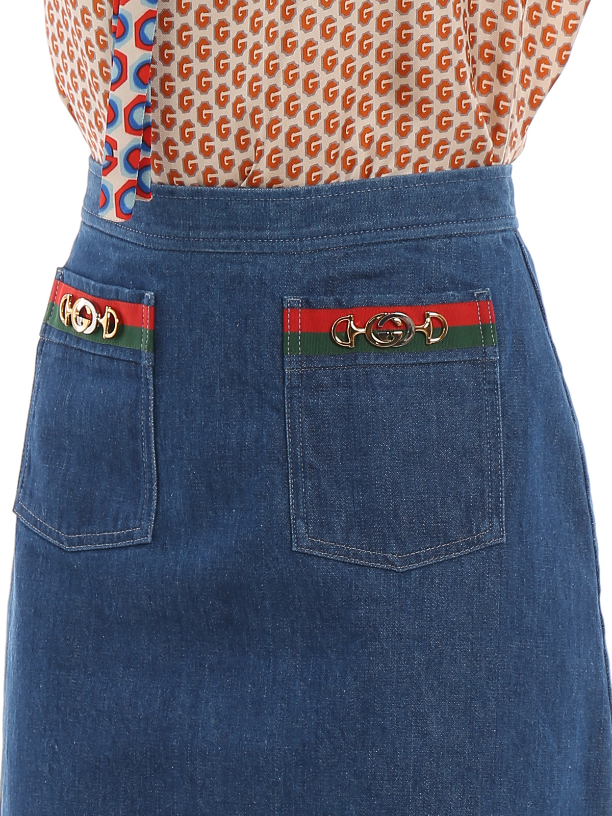 Picture of Gucci | Skirt W/Ribbon