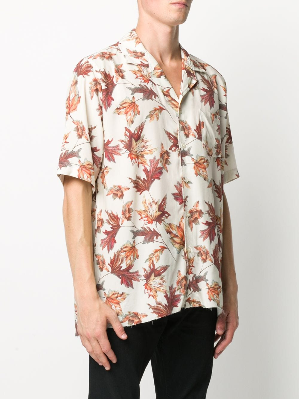Picture of Rhude | Ss Hawaiian Pitt Shirt