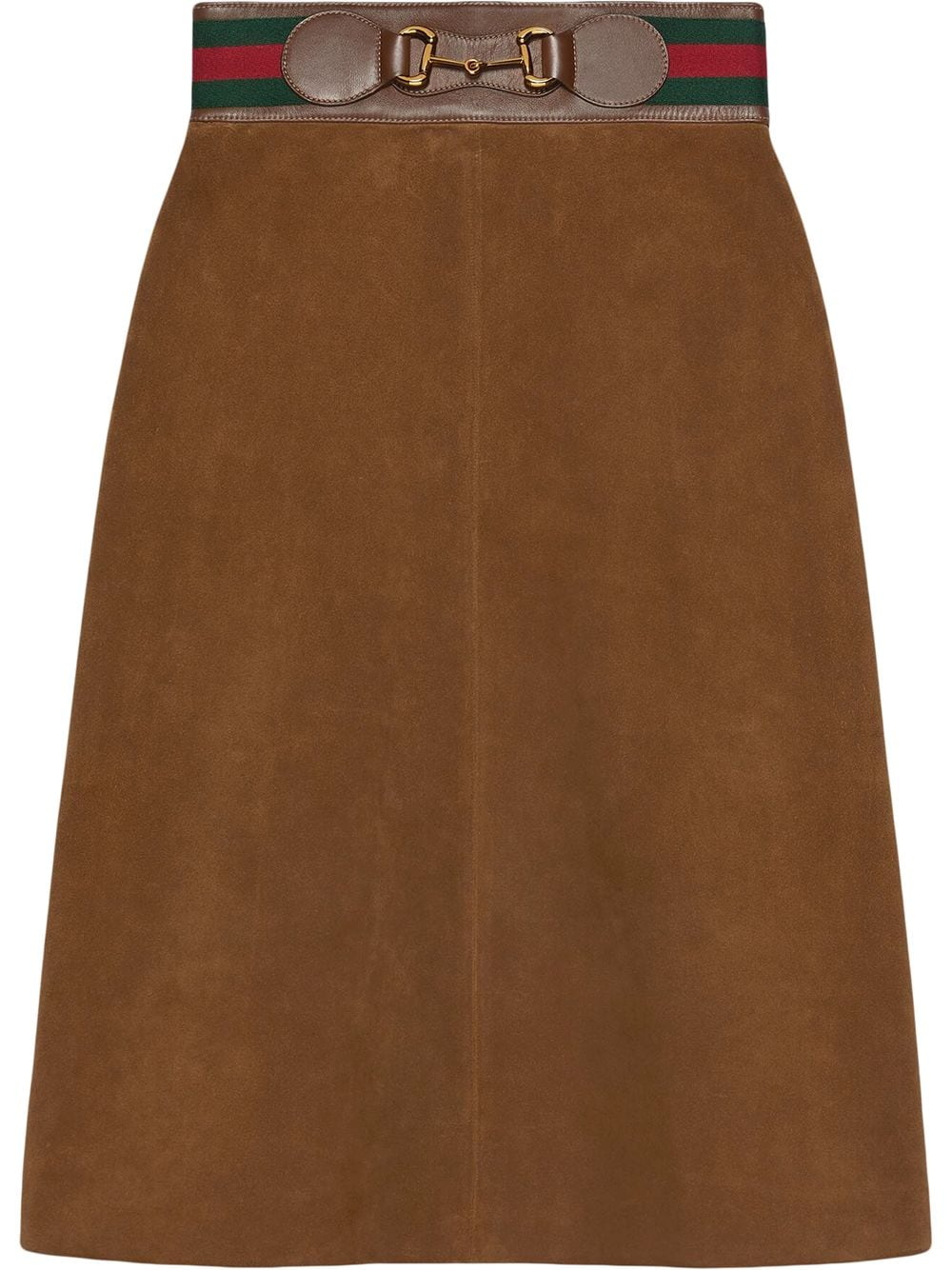 Picture of Gucci | Suede Skirt