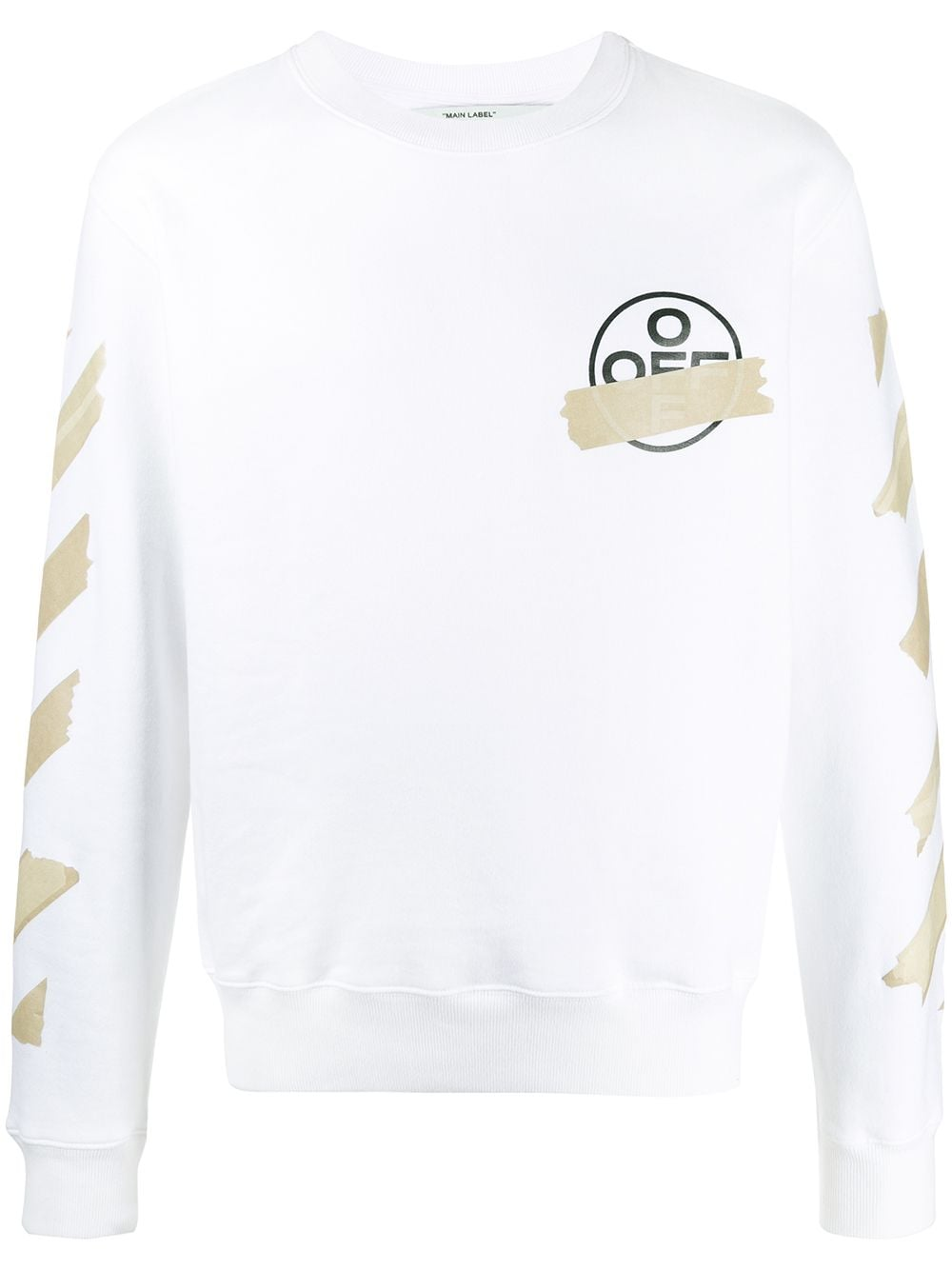 Immagine di Off White | Tape Arrows Slim Crewneck
