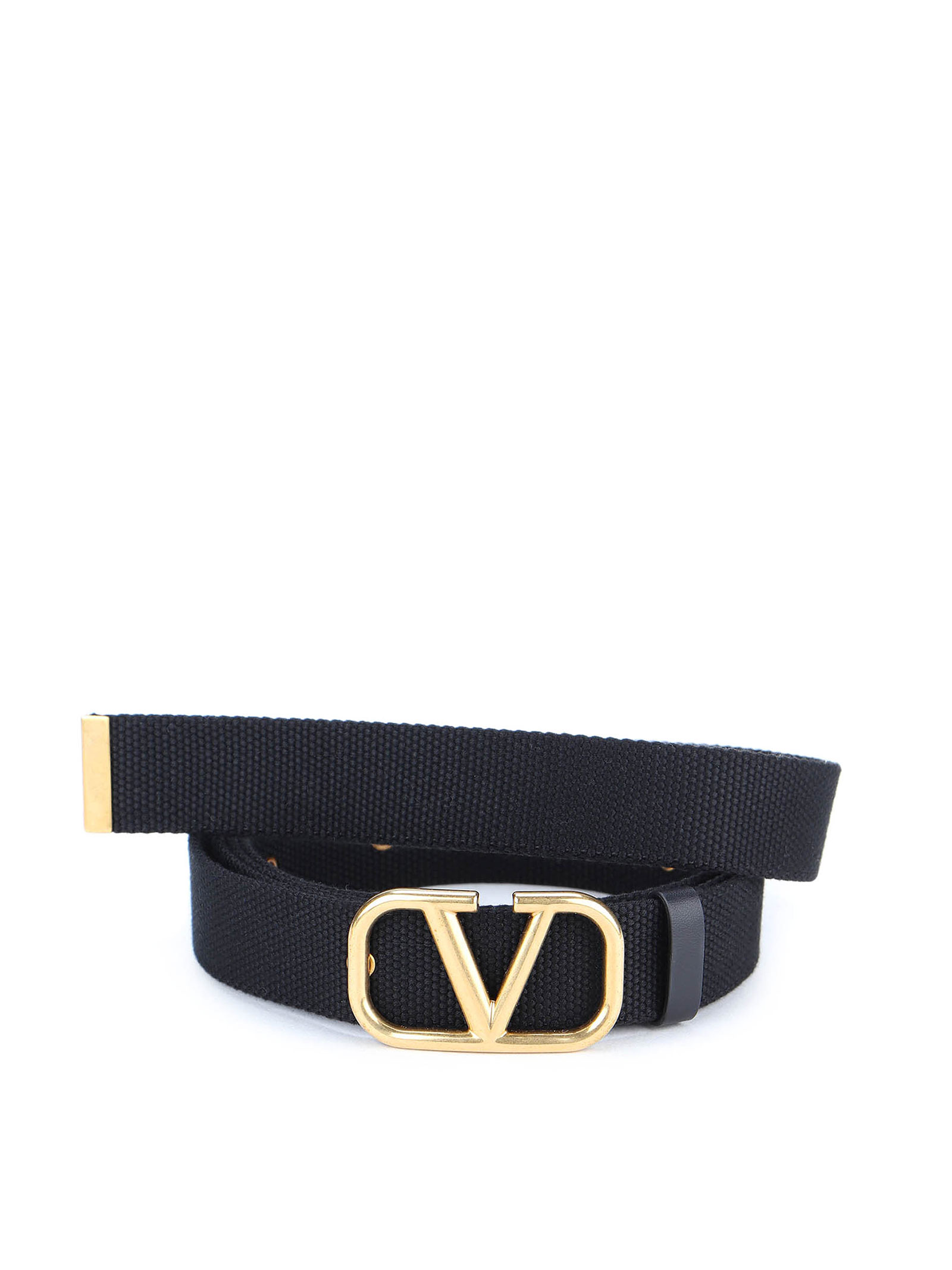 Picture of Valentino Garavani | Vlogo Buckle Belt H.30
