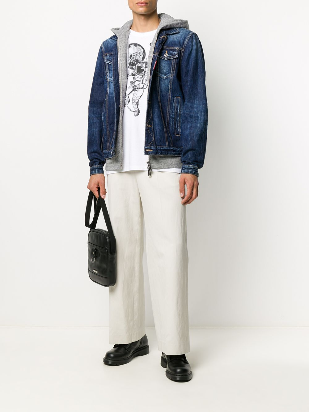 Immagine di Dsquared2 | Icon Denim Jacket+Jersey