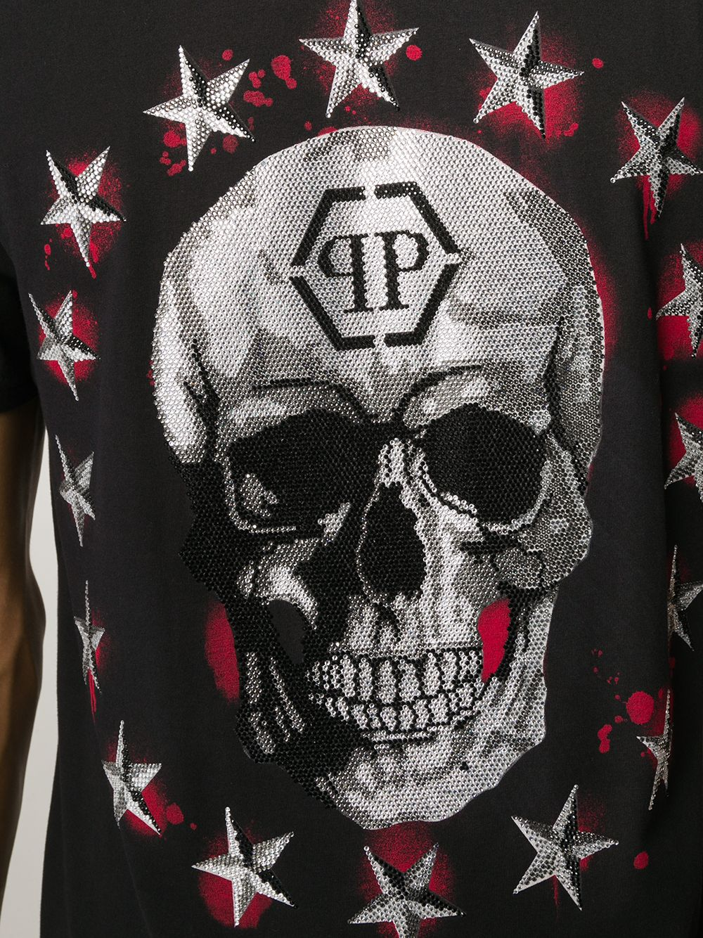 Immagine di Philipp Plein | T-Shirt Stars And Skull