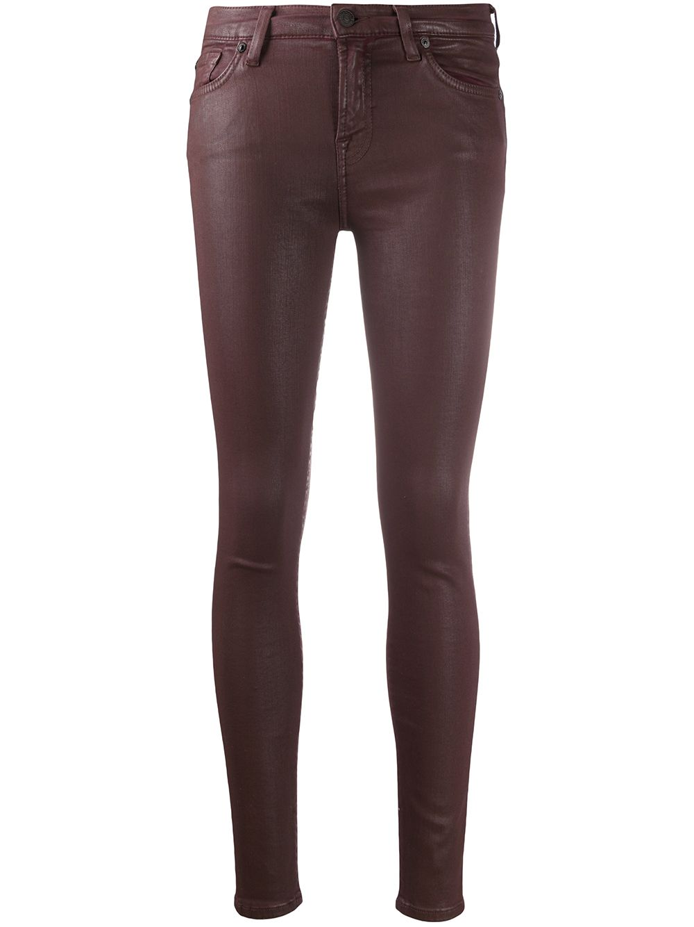 Immagine di 7 For All Mankind | Skinny Coated Jeans