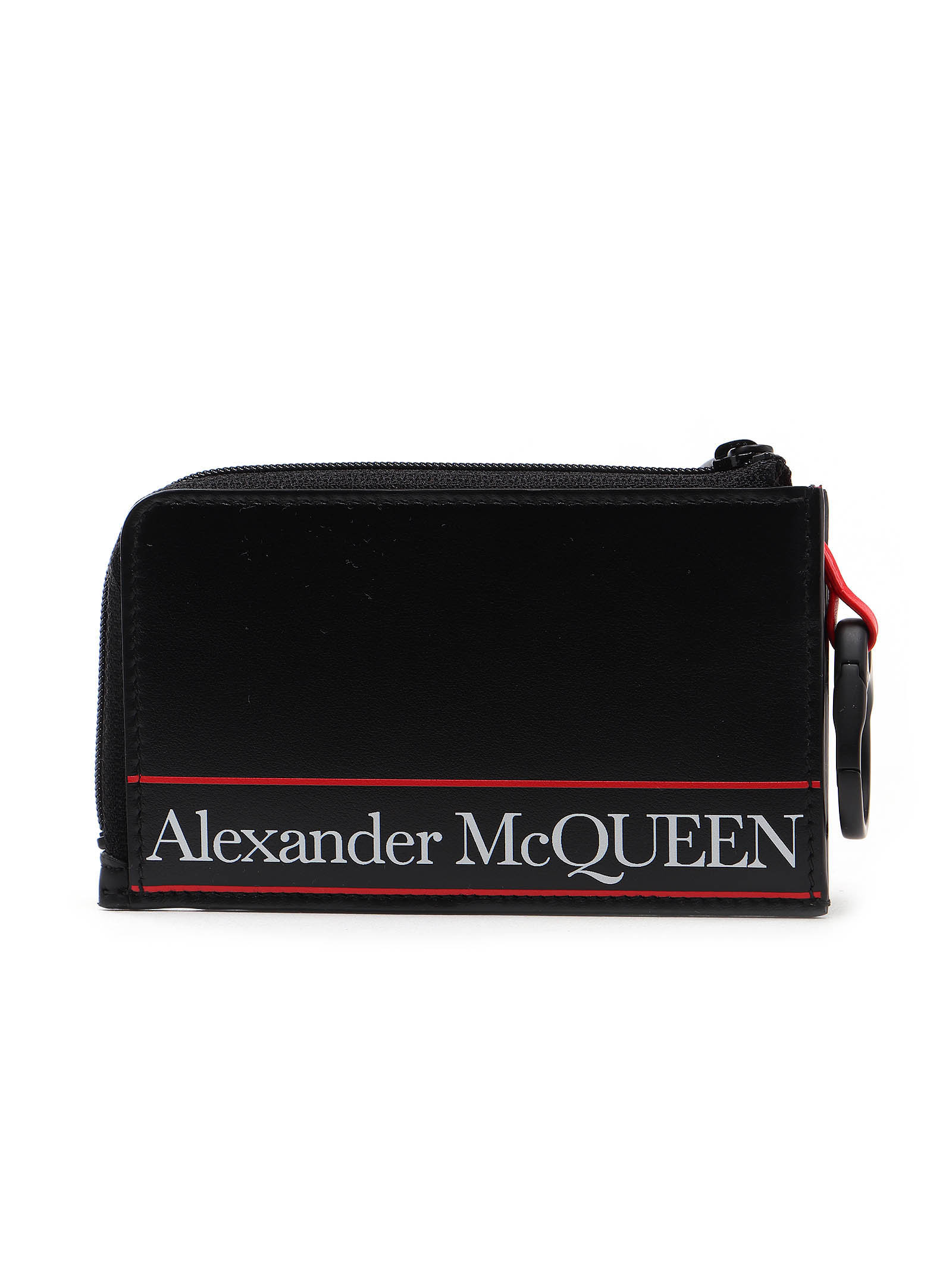 Picture of Alexander Mcqueen | Large Zip Coin Card