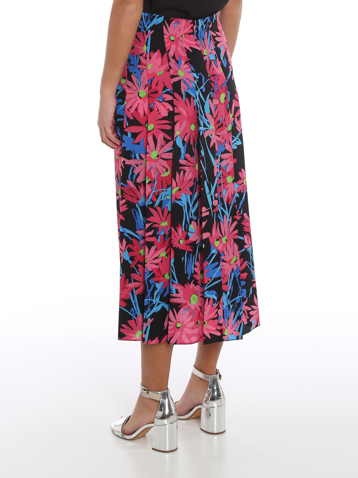 Picture of Gucci | Ken Scott Printed Silk Skirt