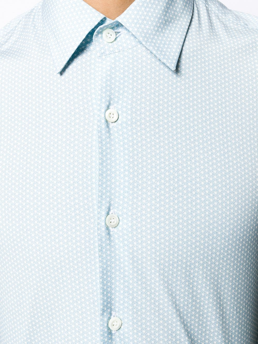 Picture of Prada | Shirt Geometric