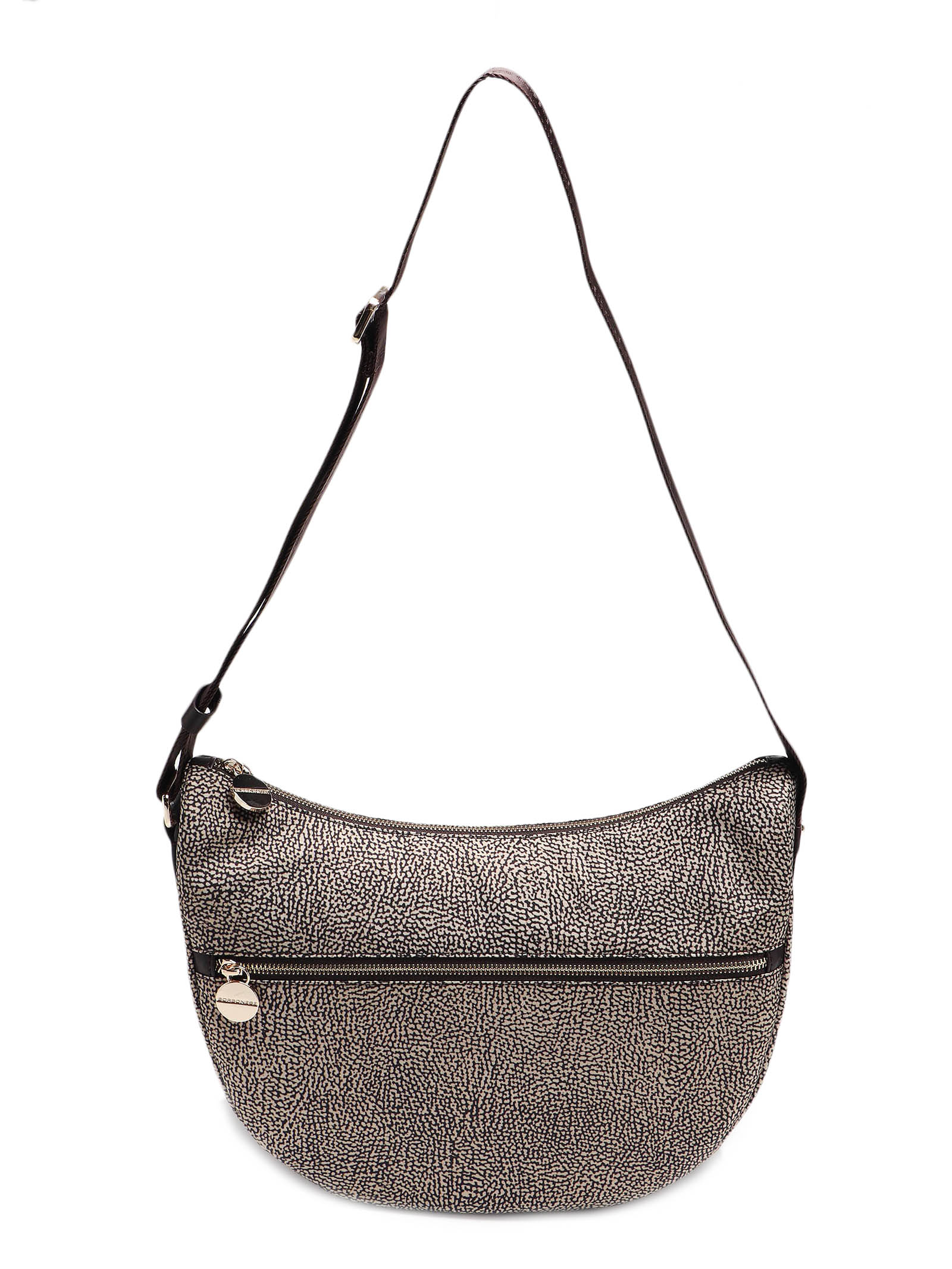 Picture of Borbonese | Luna Bag Middle