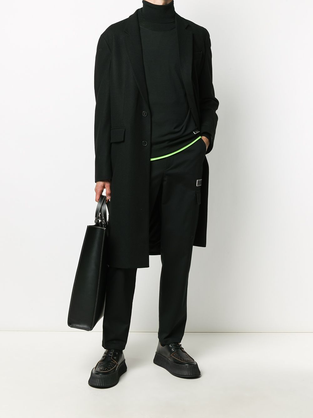 Picture of Valentino   Cargo Pants Vltn Tag
