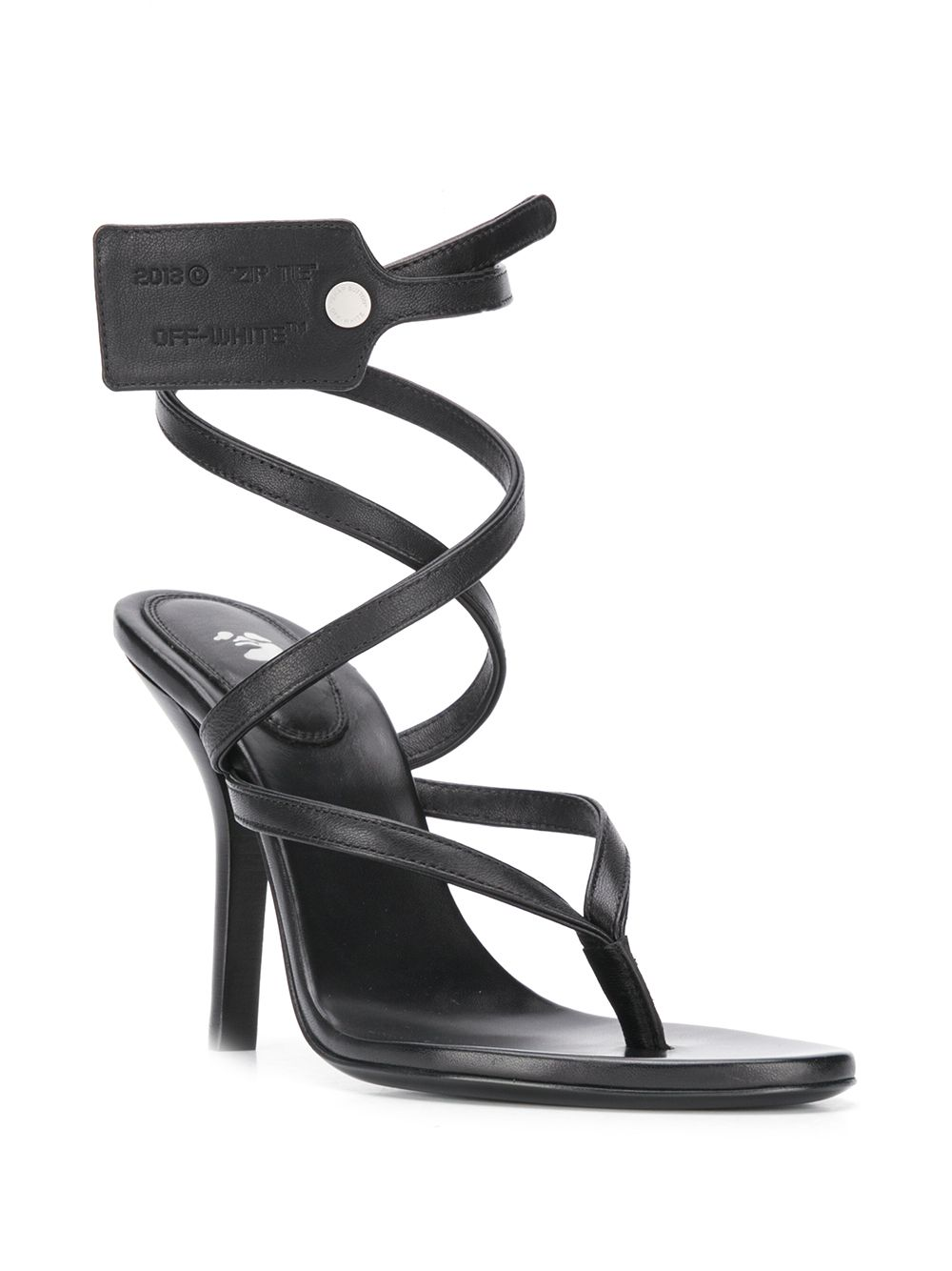 Picture of Off White | Ziptie Sandal