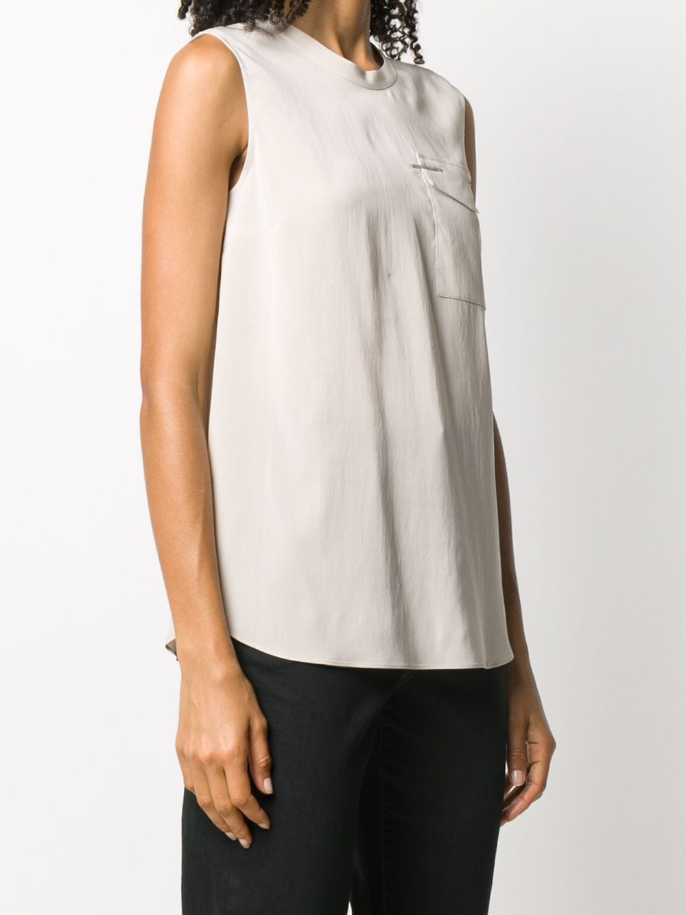 Picture of Brunello Cucinelli | Round Neck Top