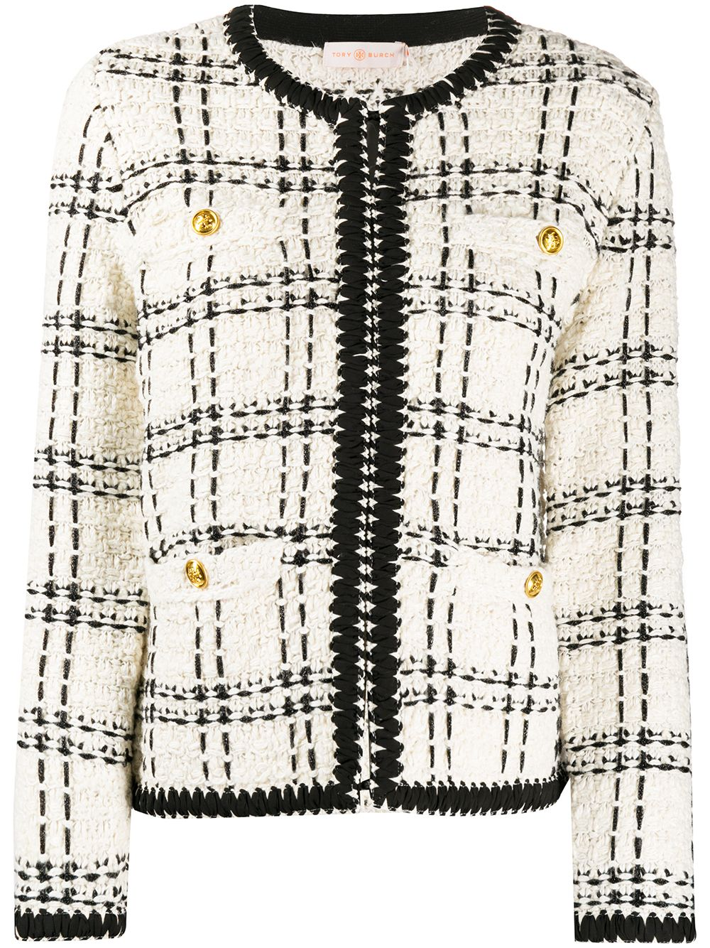 Immagine di Tory Burch | Tweed Kendra Cardigan