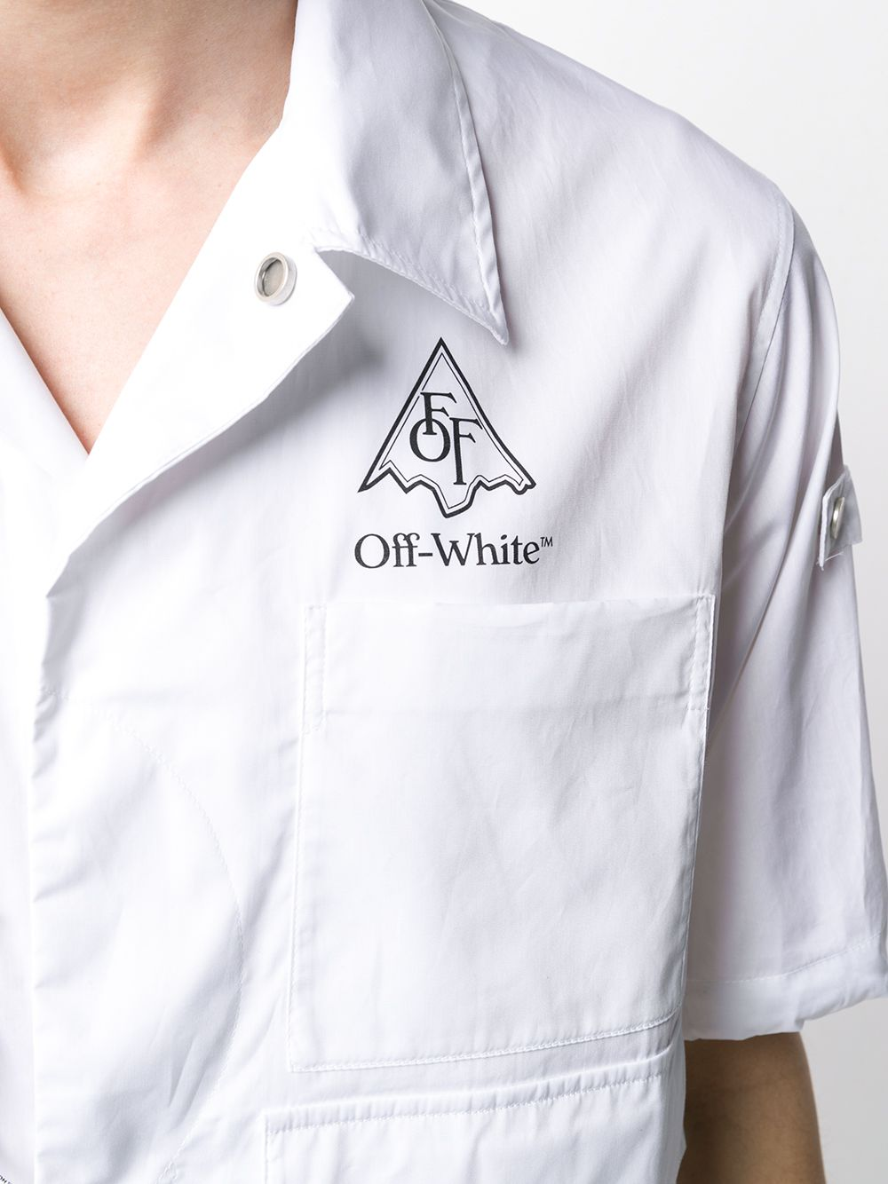 Picture of Off White | Vert Climb Voyager S/S Shirt